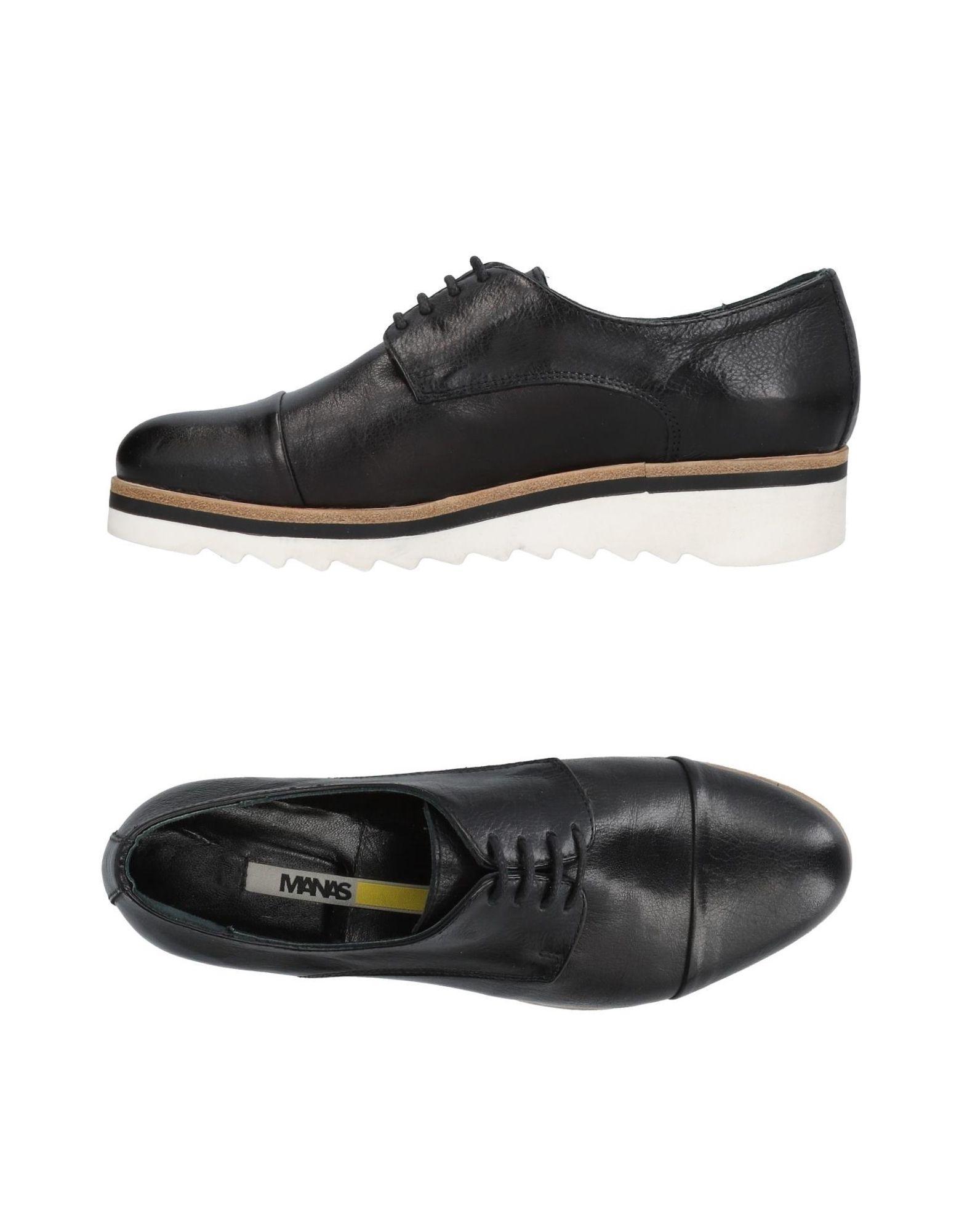 Chaussures À Lacets Manas Femme - Chaussures À Lacets Manas sur