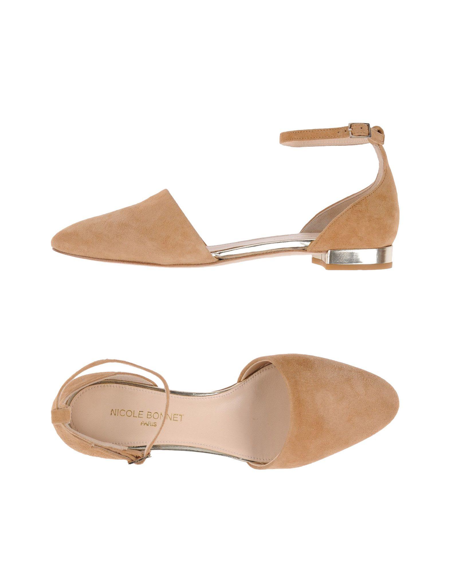 Nicole Bonnet Paris Ballerinas Damen  11435979PG Gute Qualität beliebte Schuhe