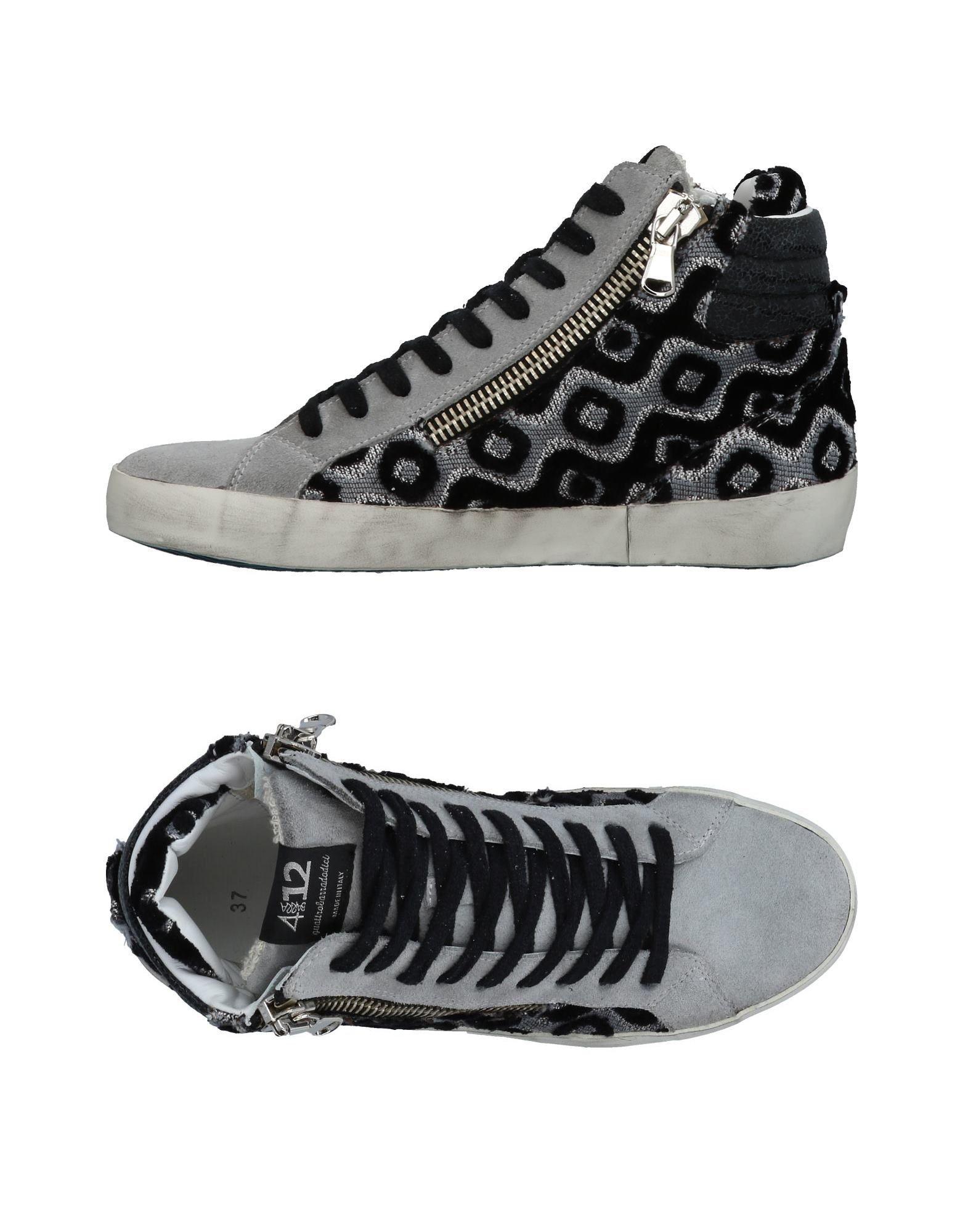 Quattrobarradodici Sneakers Damen  11436024WG Gute Qualität beliebte Schuhe
