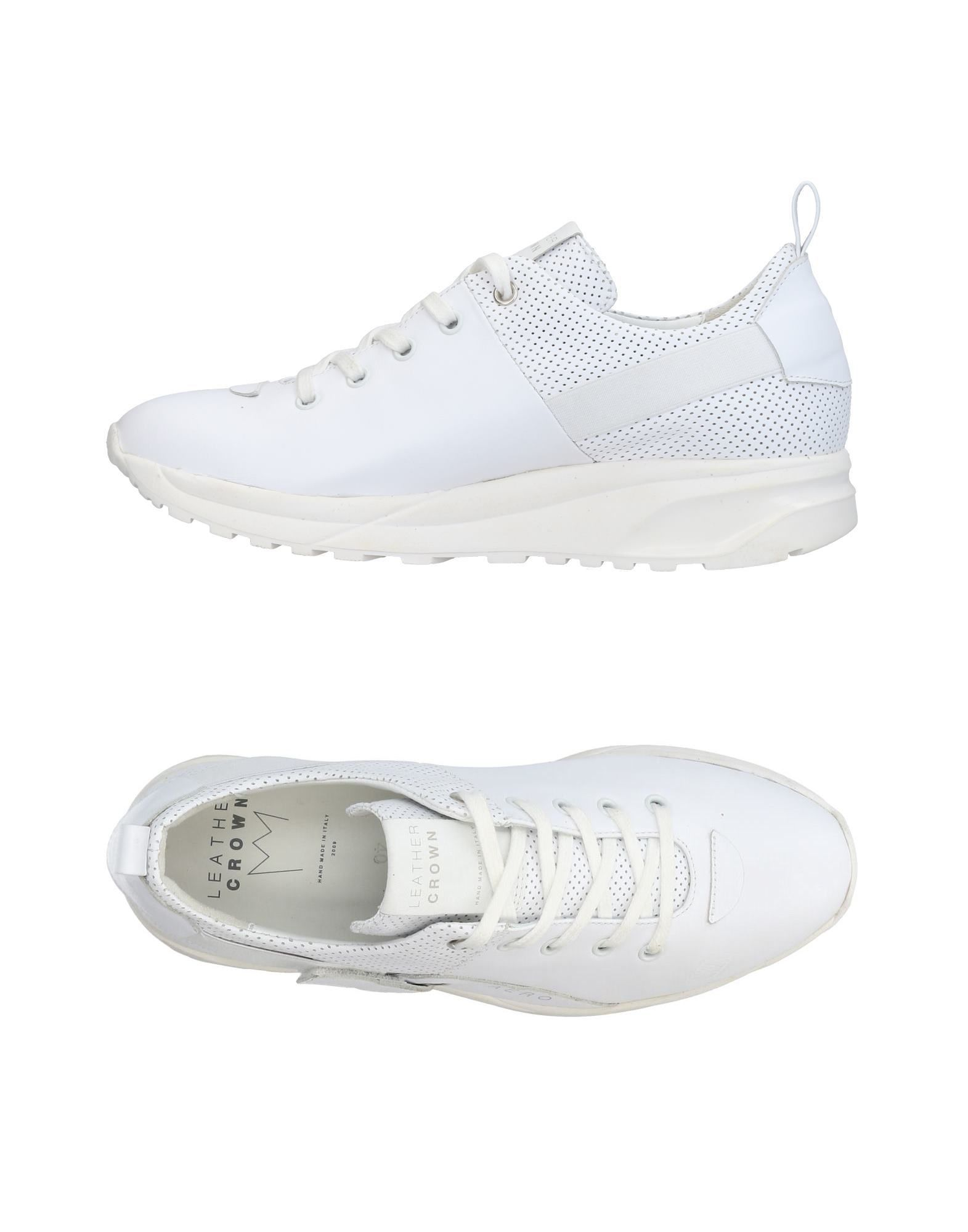 Leather Crown Sneakers Damen  11436535ON Gute Qualität beliebte Schuhe