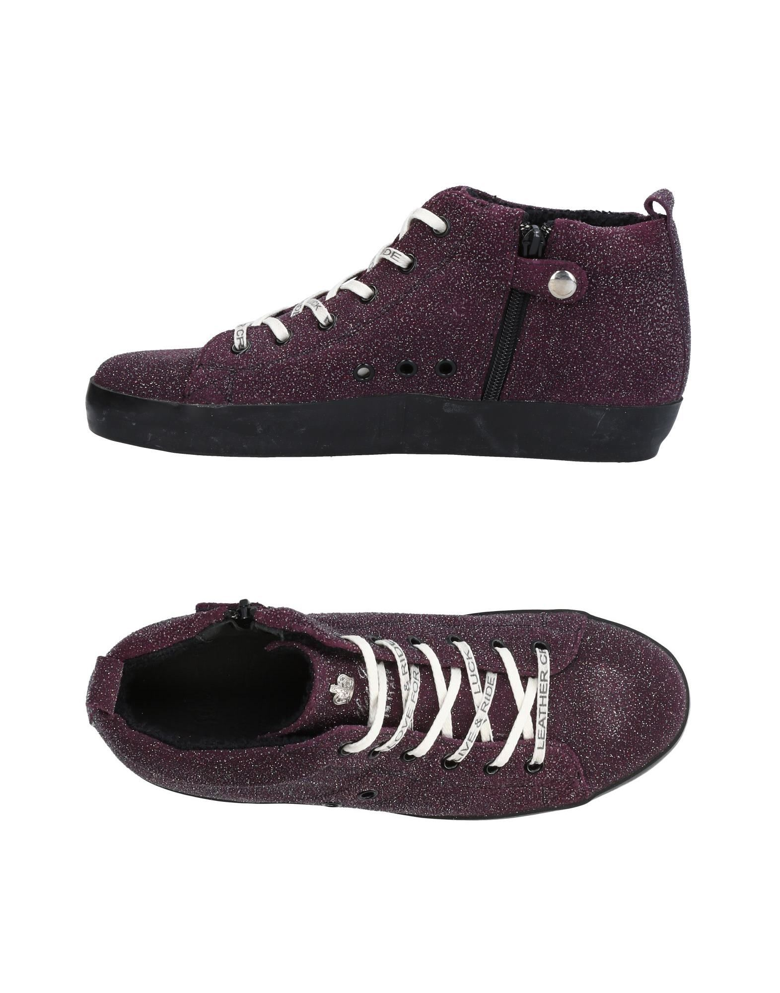 Sneakers Leather Crown Donna - 11436552WT
