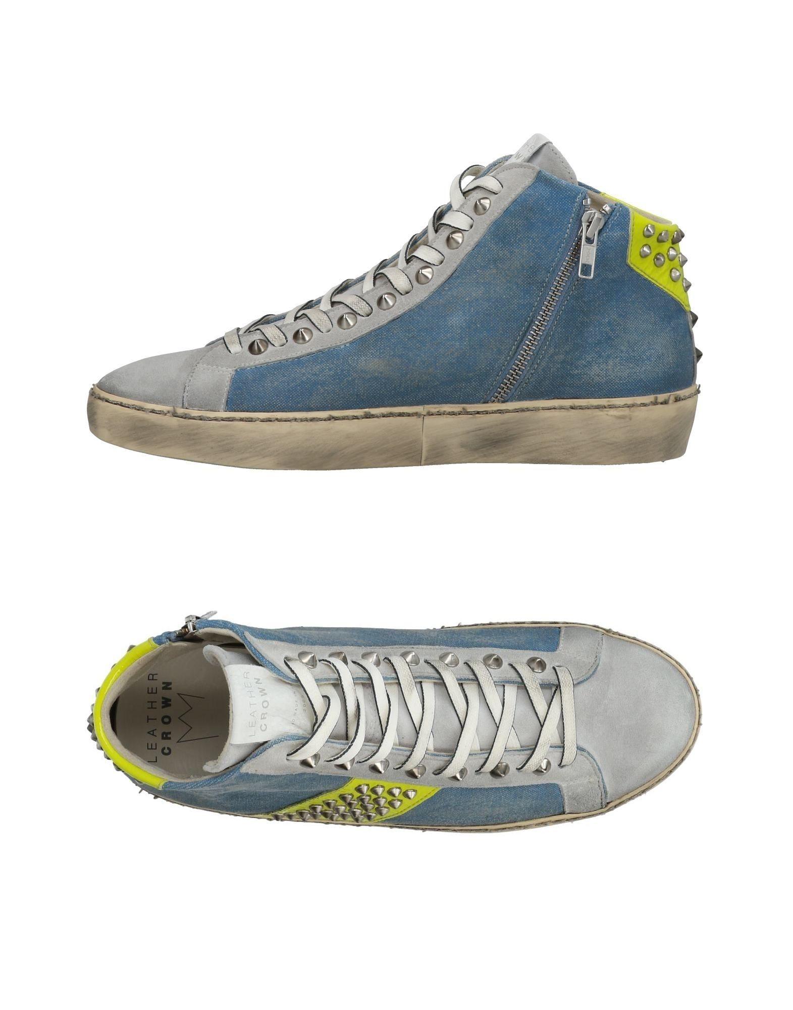 Leather Crown Sneakers Herren  11436566EH