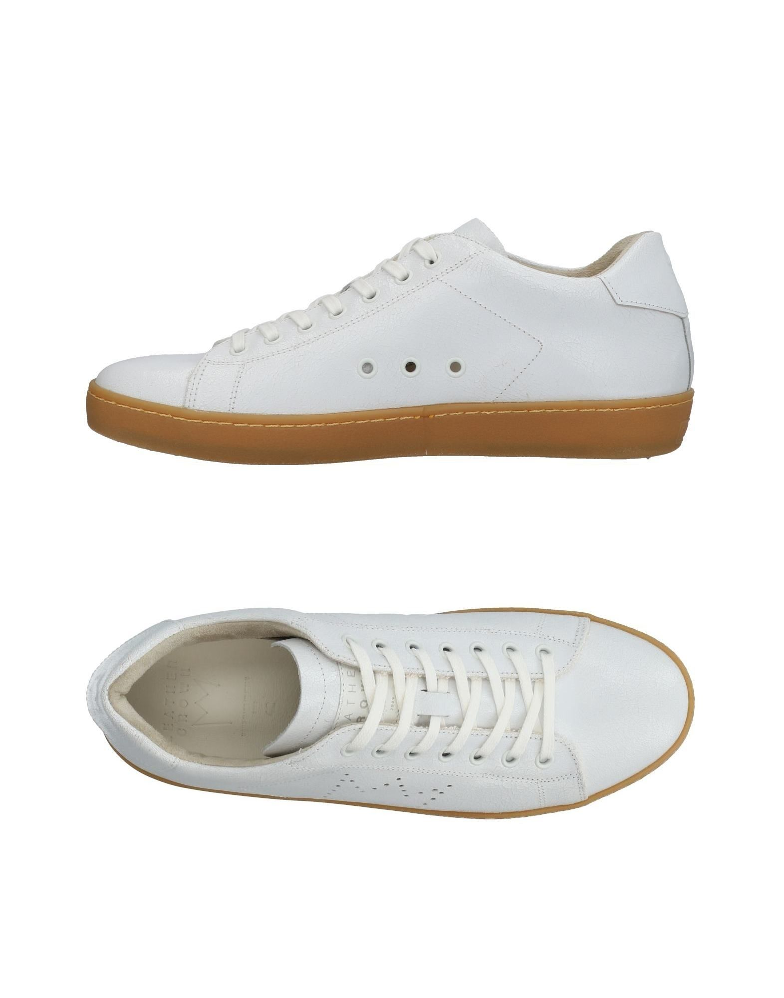 Sneakers Leather Crown Uomo - 11436569JH