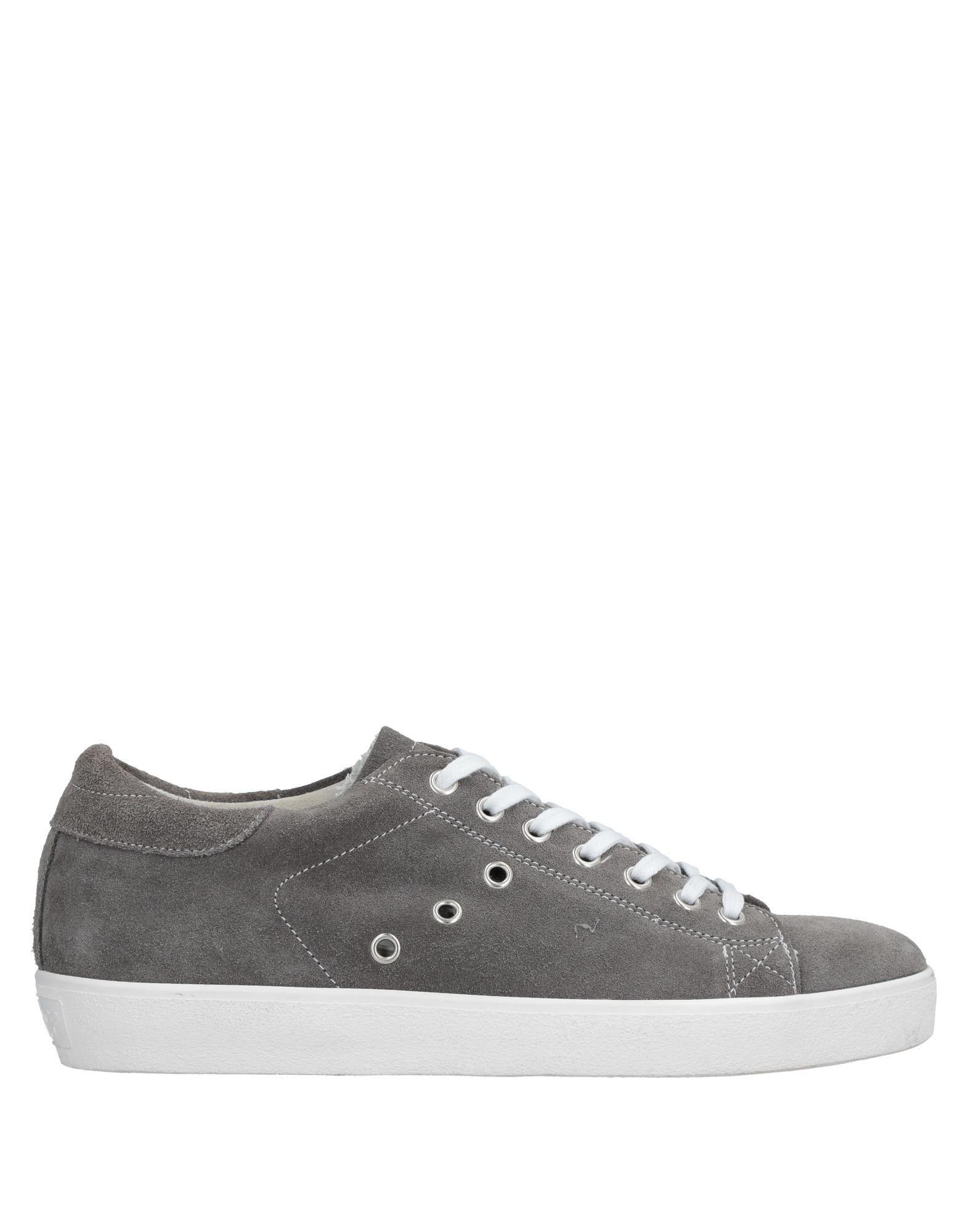 Rabatt echte Schuhe Leather Crown Sneakers Herren  11436581XK