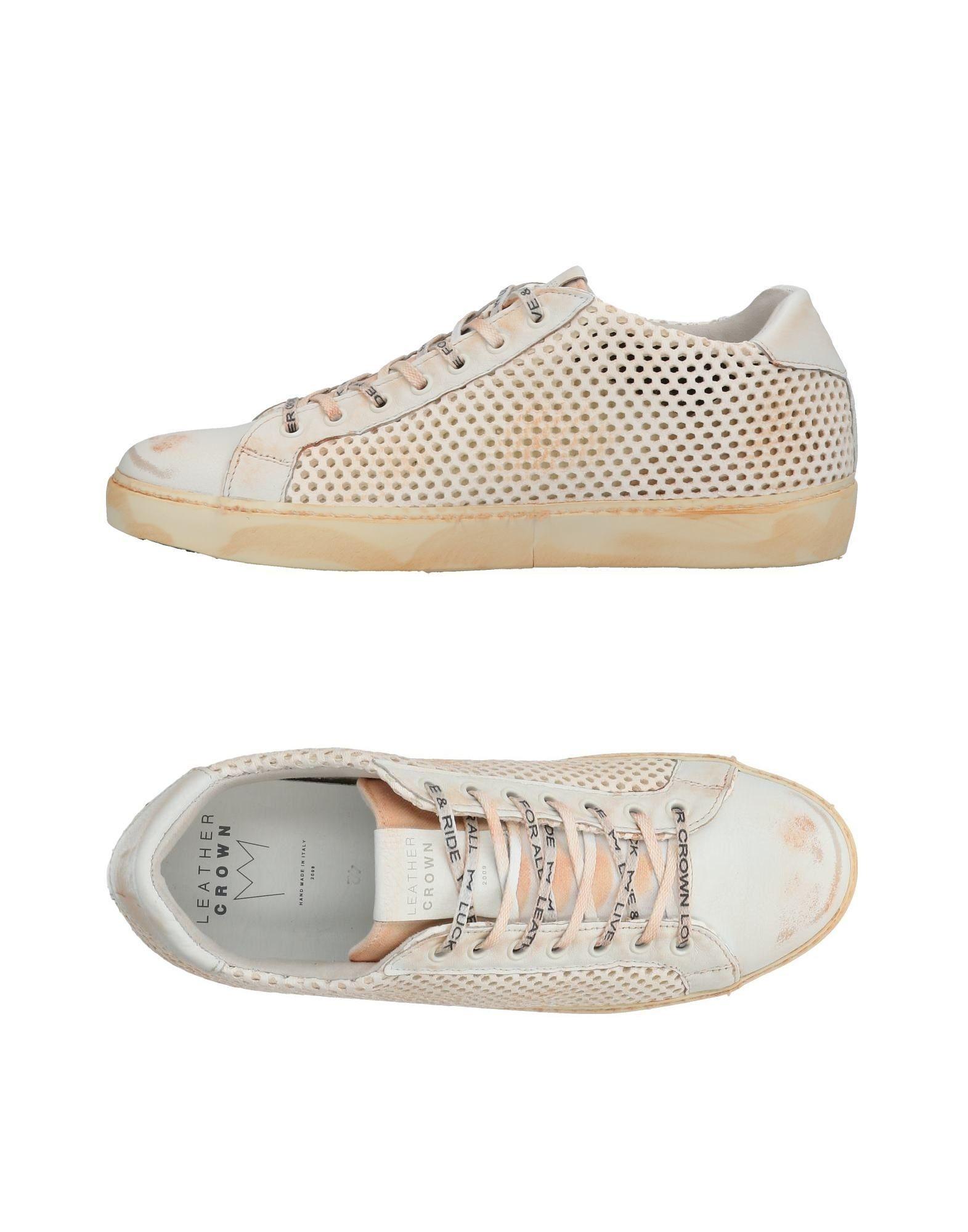 Leather Crown Sneakers Herren  11436608VA Gute Qualität beliebte Schuhe