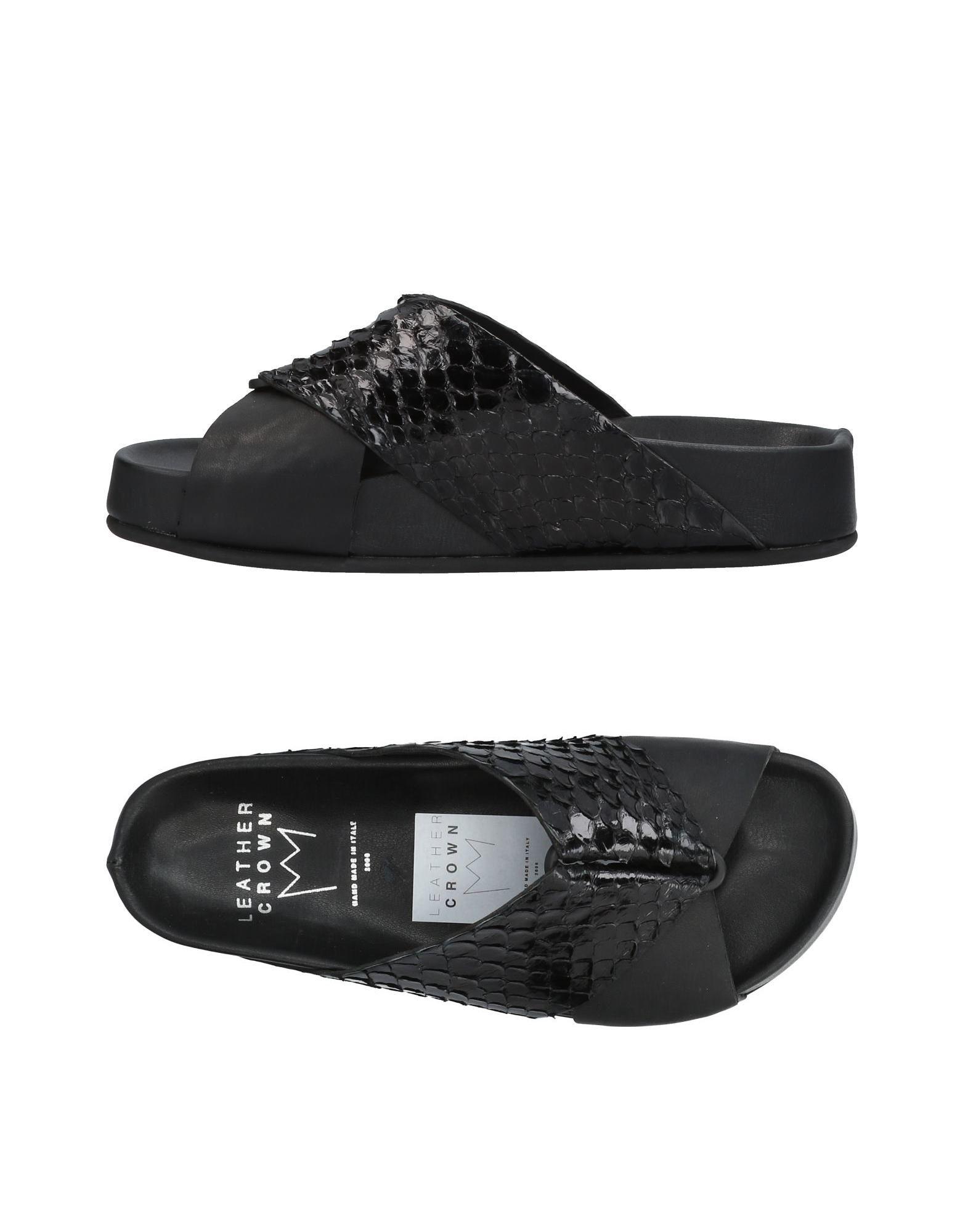 Leather Crown Sandalen Damen  11436659DC Gute Qualität beliebte Schuhe