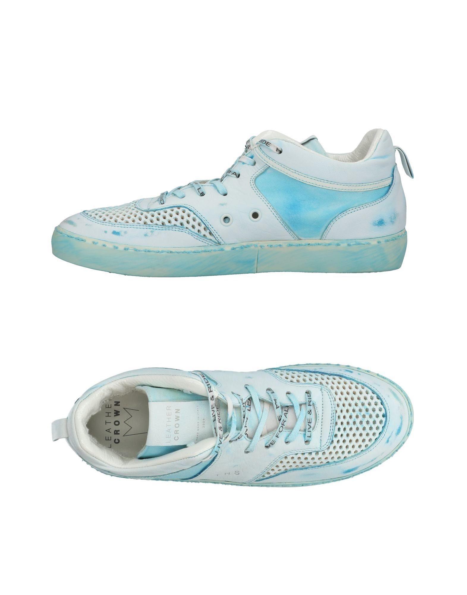 Sneakers 11436675KA Leather Crown Uomo - 11436675KA Sneakers 21b808