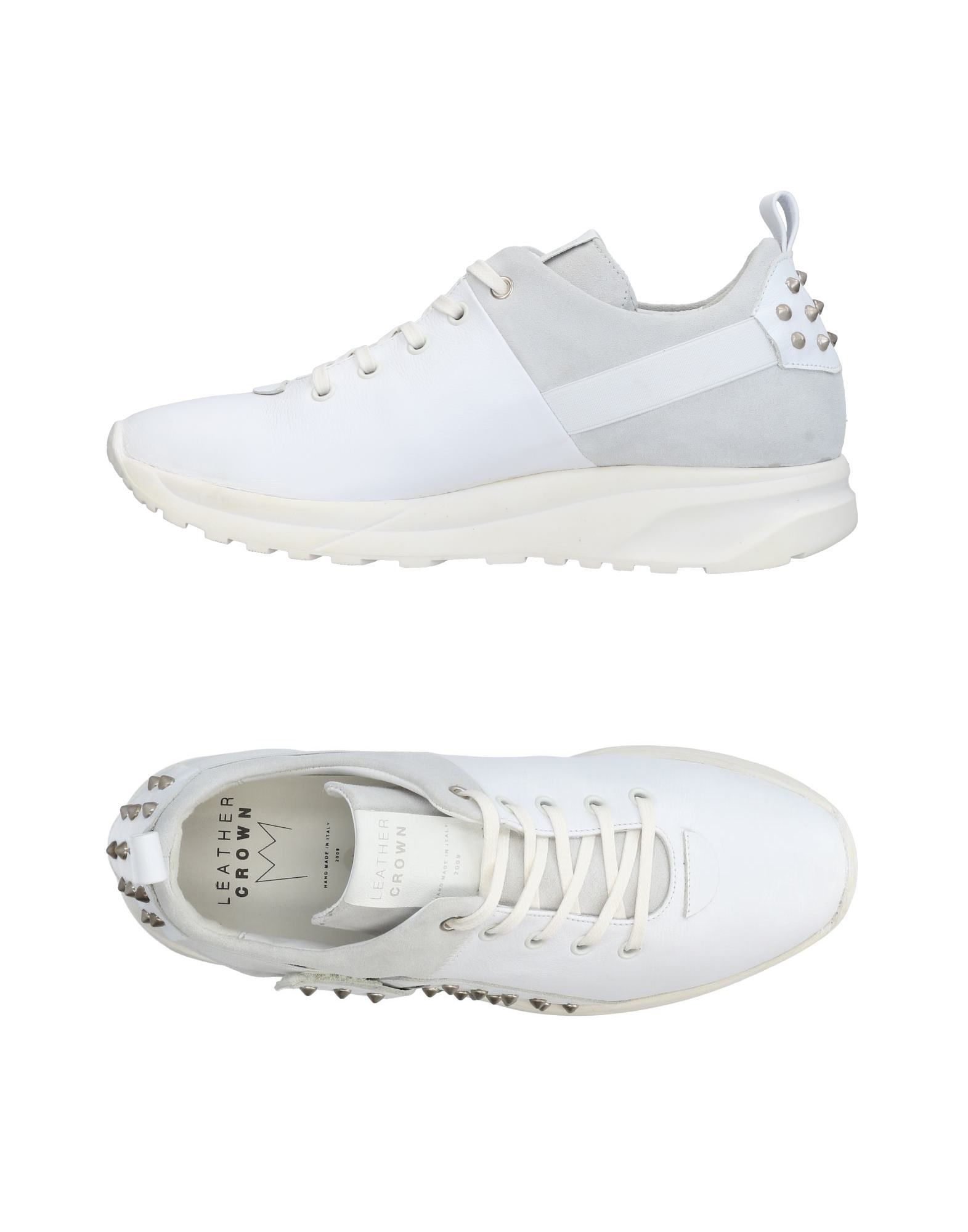 Sneakers Leather Crown Uomo - 11436688XH