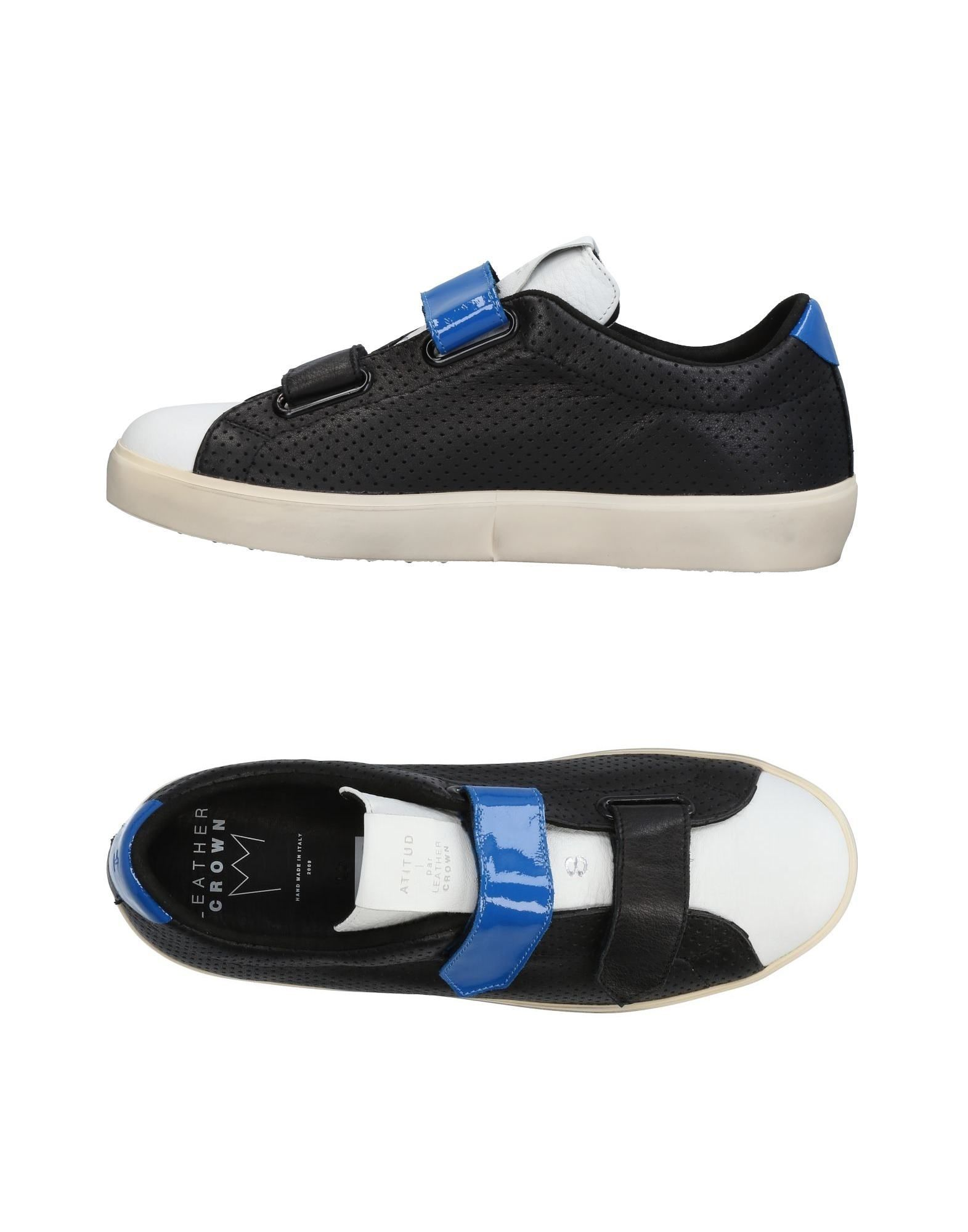 Sneakers Leather Crown Uomo - 11436720CX