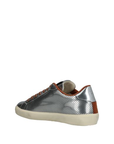 Uomo Crownmarrone Scarpe Crown Leather Sneakers
