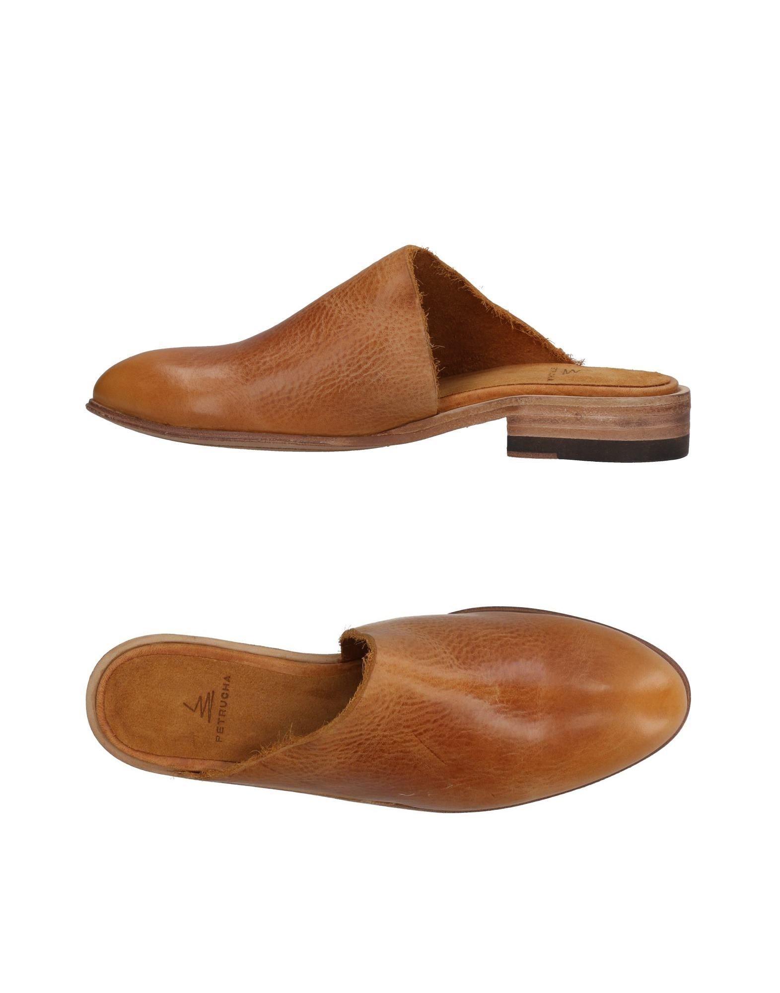 Petrucha Pantoletten Damen   Damen 11436832CF Heiße Schuhe 22cb0c