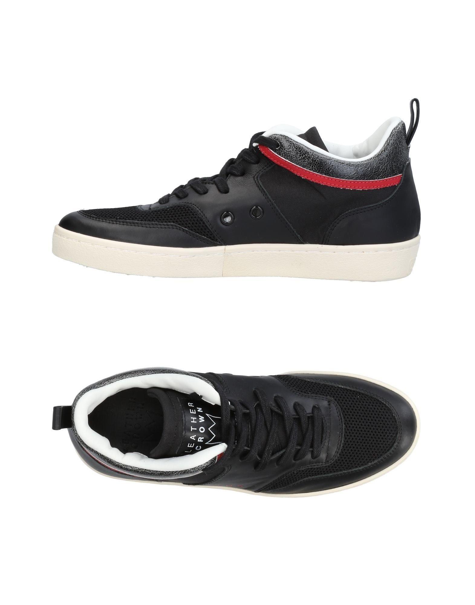 Leder Crown Sneakers Damen Gutes Preis-Leistungs-Verhältnis, es lohnt sich 1181
