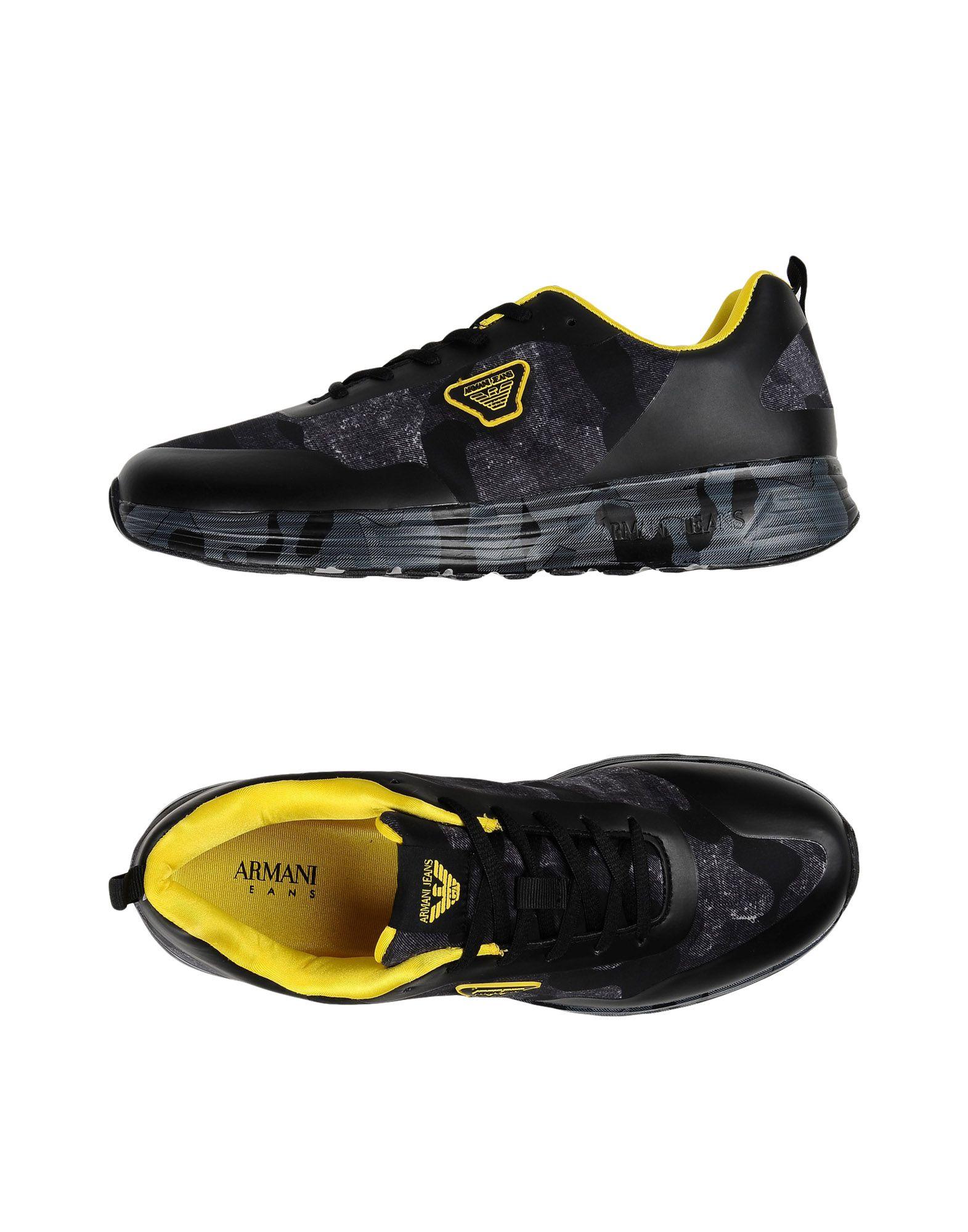9c2486d368b6e Armani Jeans Sneakers - Men Armani Jeans Sneakers online on YOOX Australia  - 11437146PK