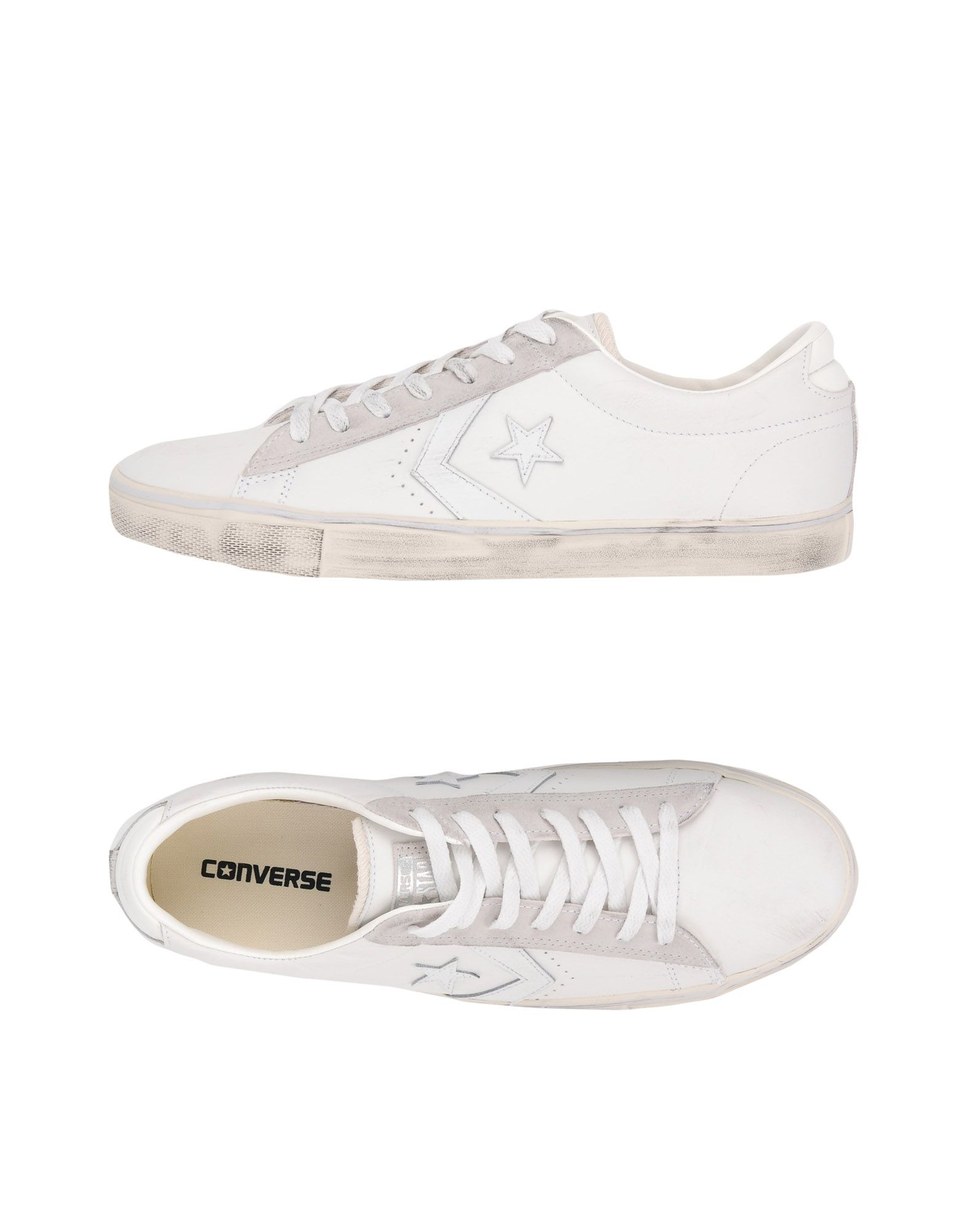 Sneakers Converse All Star Pro Leather Vulc Ox Leather Distressed - Uomo - Acquista online su