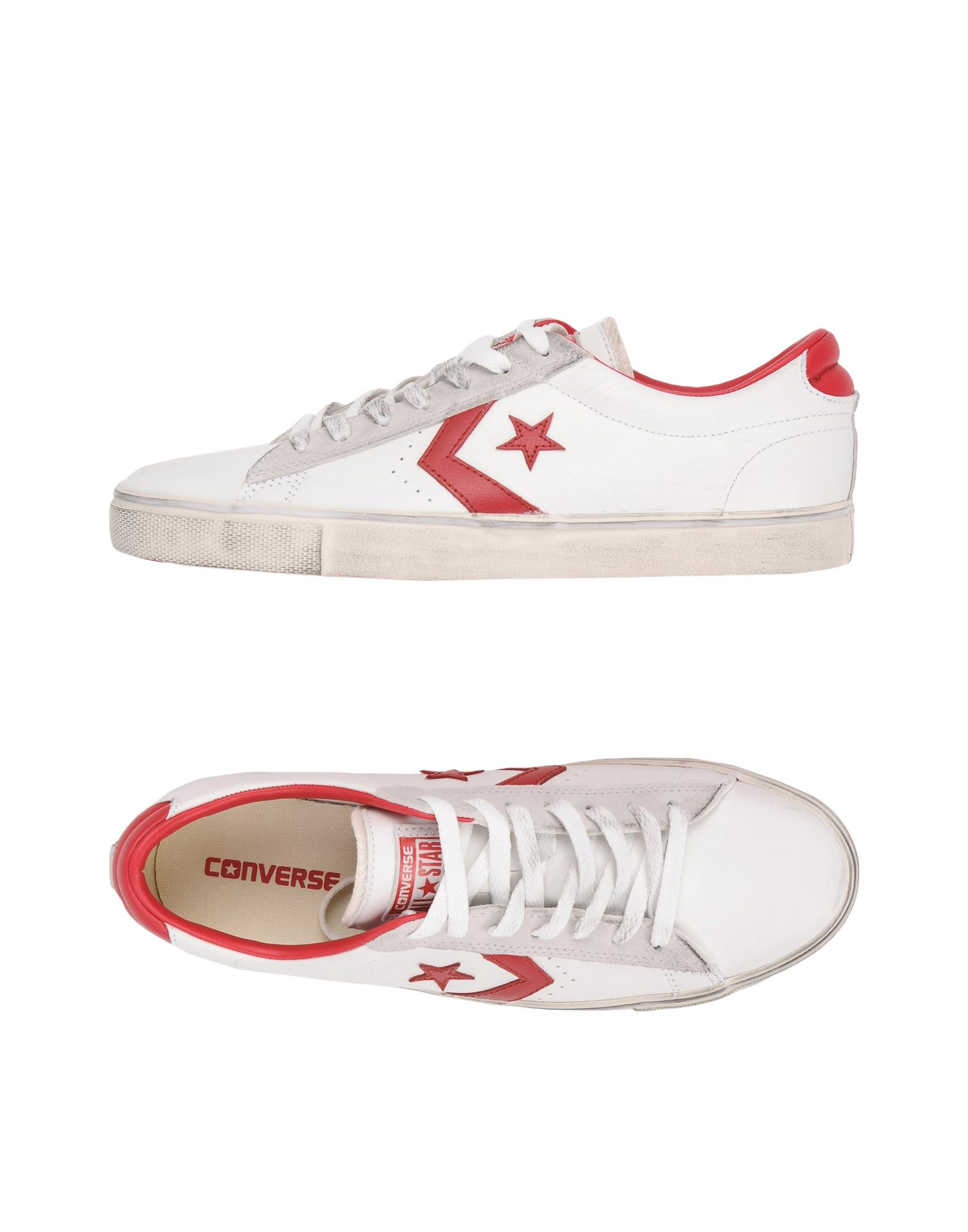Converse All Star Pro Leather Vulc Ox - Leather Distressed - Sneakers - Ox Men Converse All Star Sneakers online on  United Kingdom - 11437531GG 1e7e62