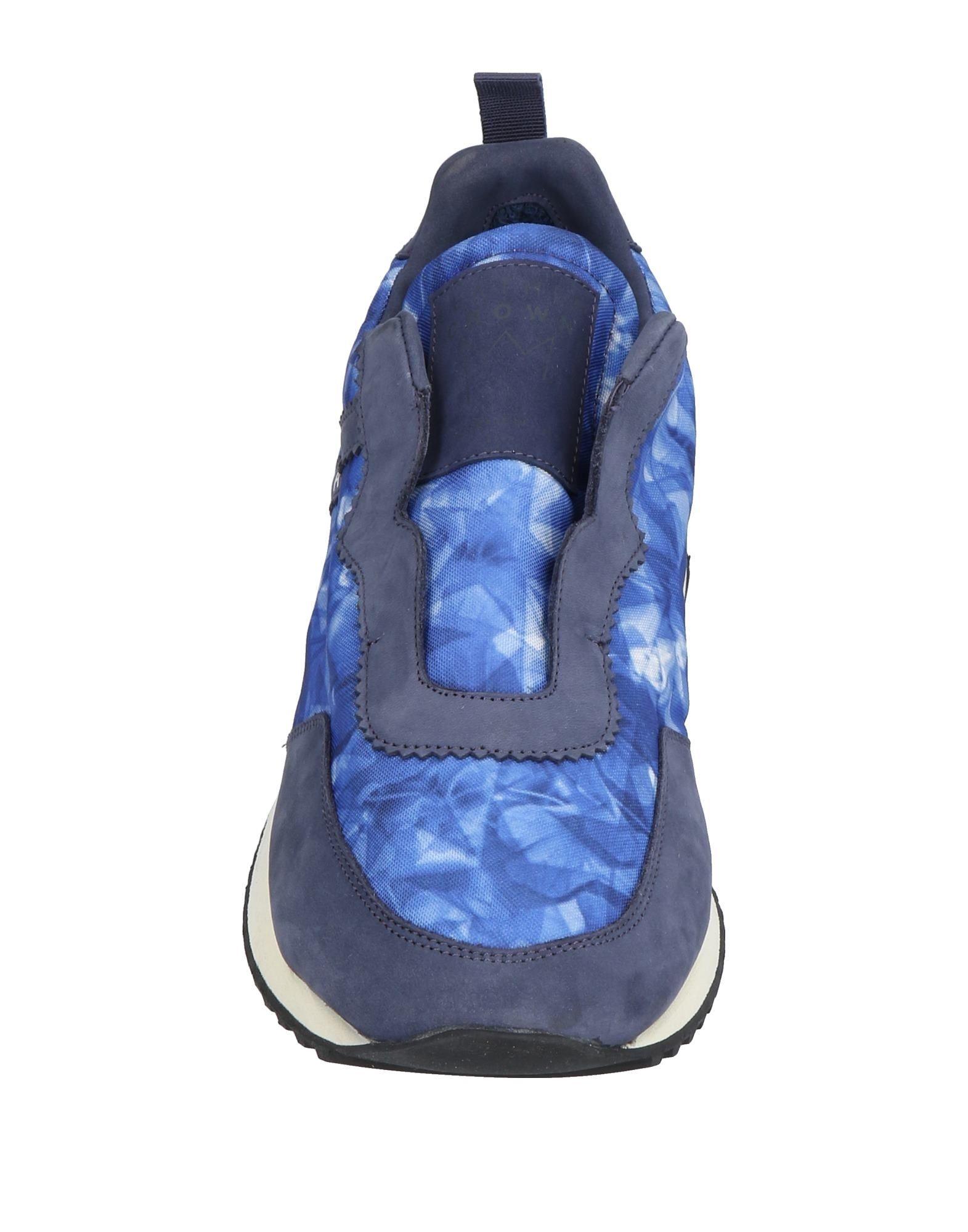 Rabatt echte Schuhe Leather Crown Sneakers Herren  11437564VX