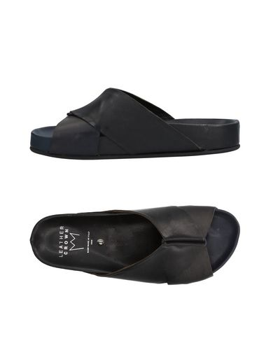 Zapatos con Crown descuento Chanclas Leather Crown con Hombre - Chanclas Leather Crown - 11437569JG Negro ec4d26