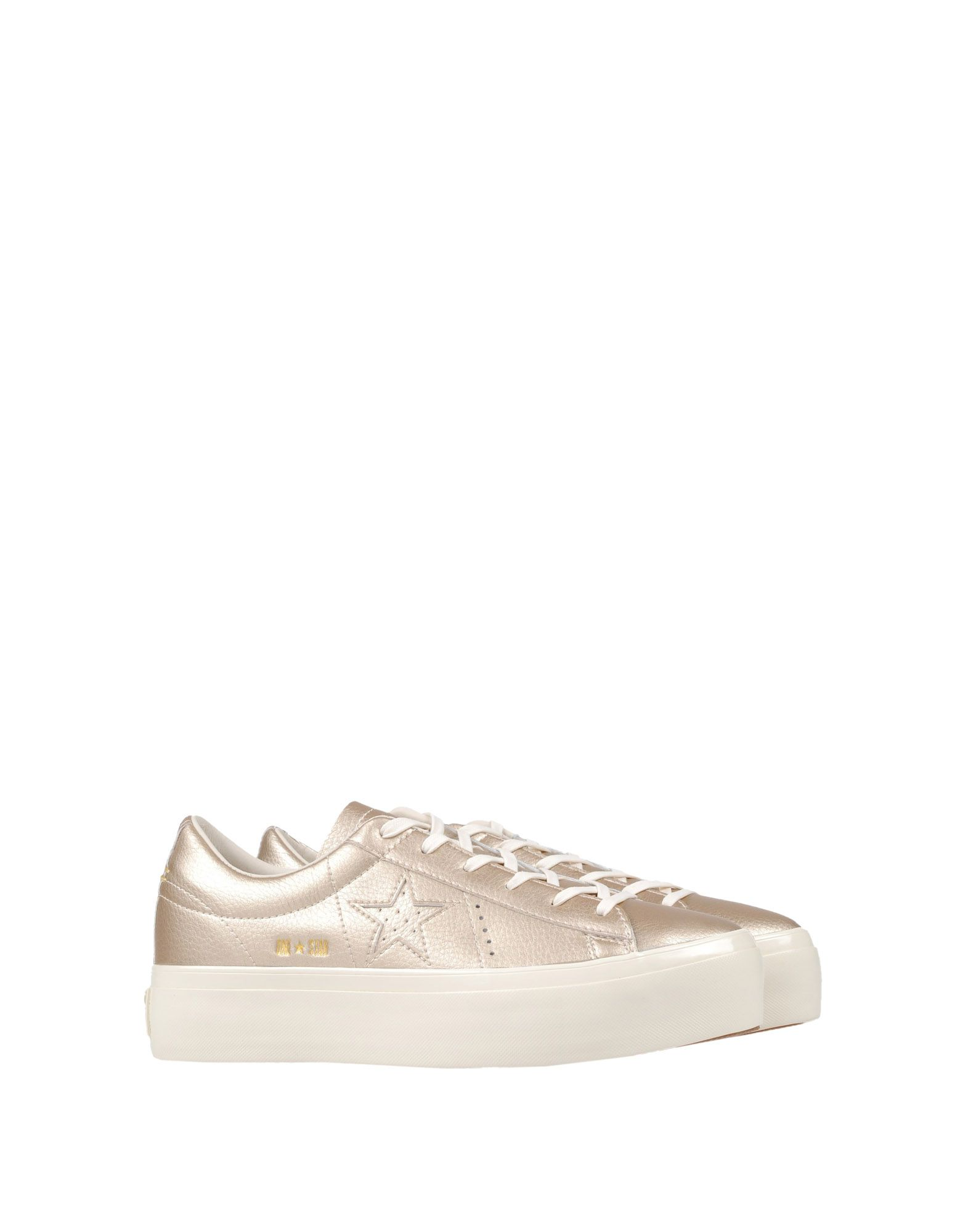 Sneakers Converse All Star One Star Platform Ox Metallic Leather - Femme - Sneakers Converse All Star sur