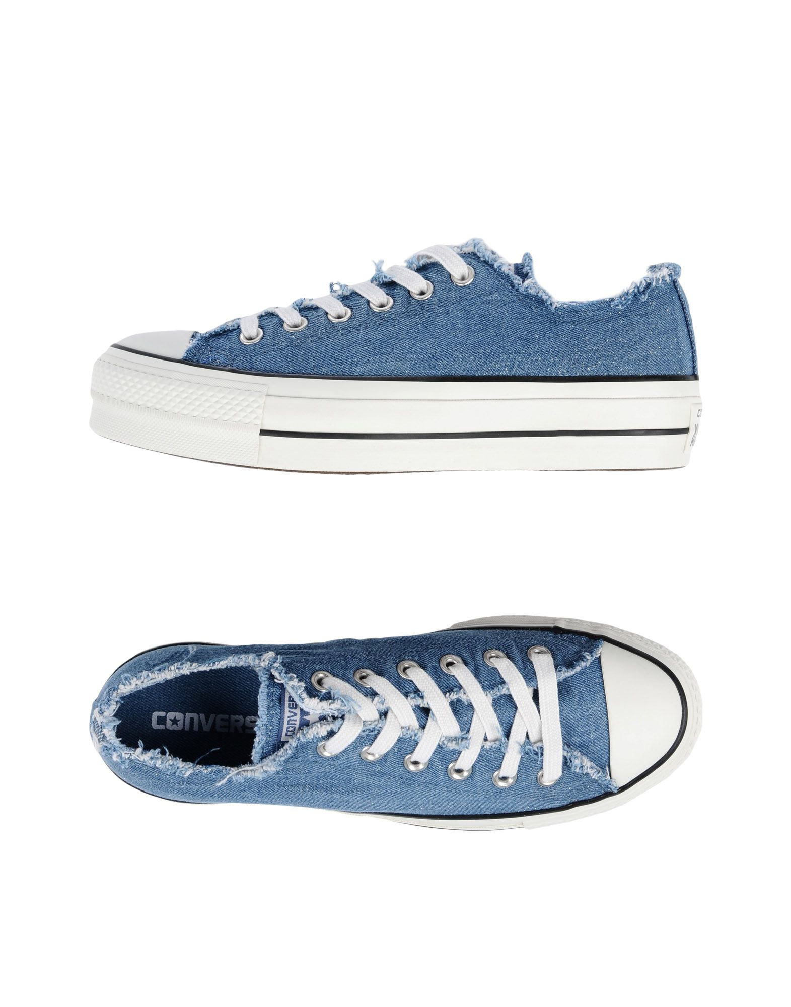 Zapatillas Converse All Star Ctas Ctas Ctas Ox Clean Lift Dim Frayed - Mujer - Zapatillas Converse All Star 47075c