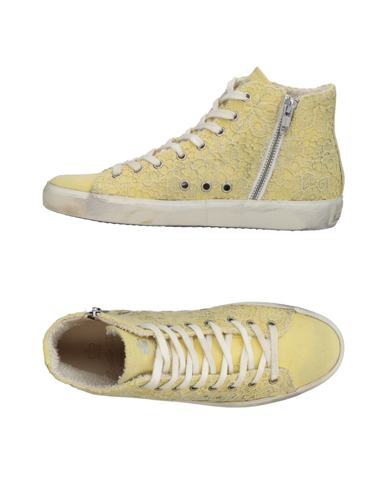 Sneakers Leather Crown Donna - 11437768GP