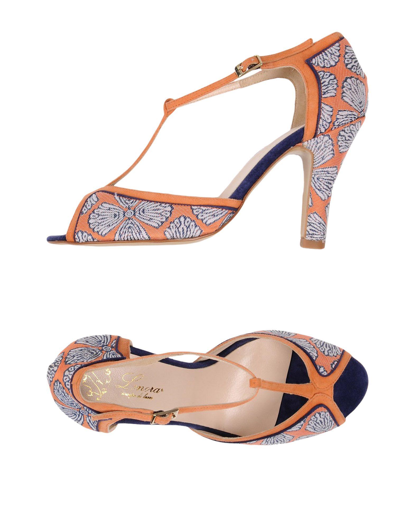 Stilvolle billige  Schuhe Lenora Sandalen Damen  billige 11437846ST 3d2490