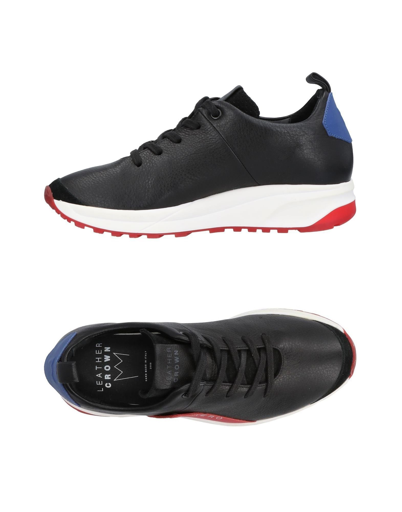 Sneakers Leather Leather Sneakers Crown Donna - 11438096JQ 1f4061