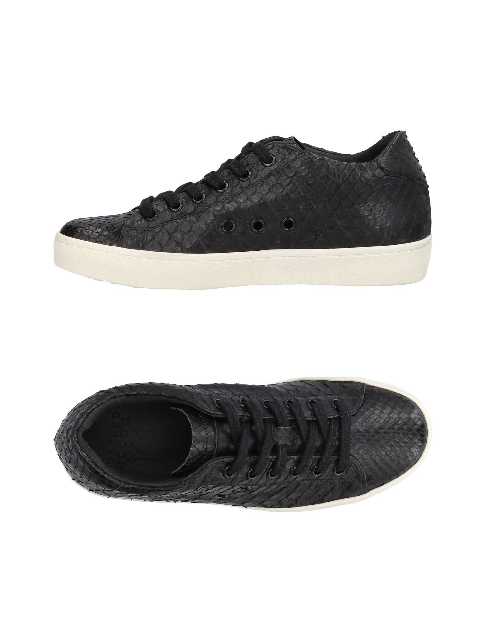 Sneakers Leather Crown Donna - 11438123QI