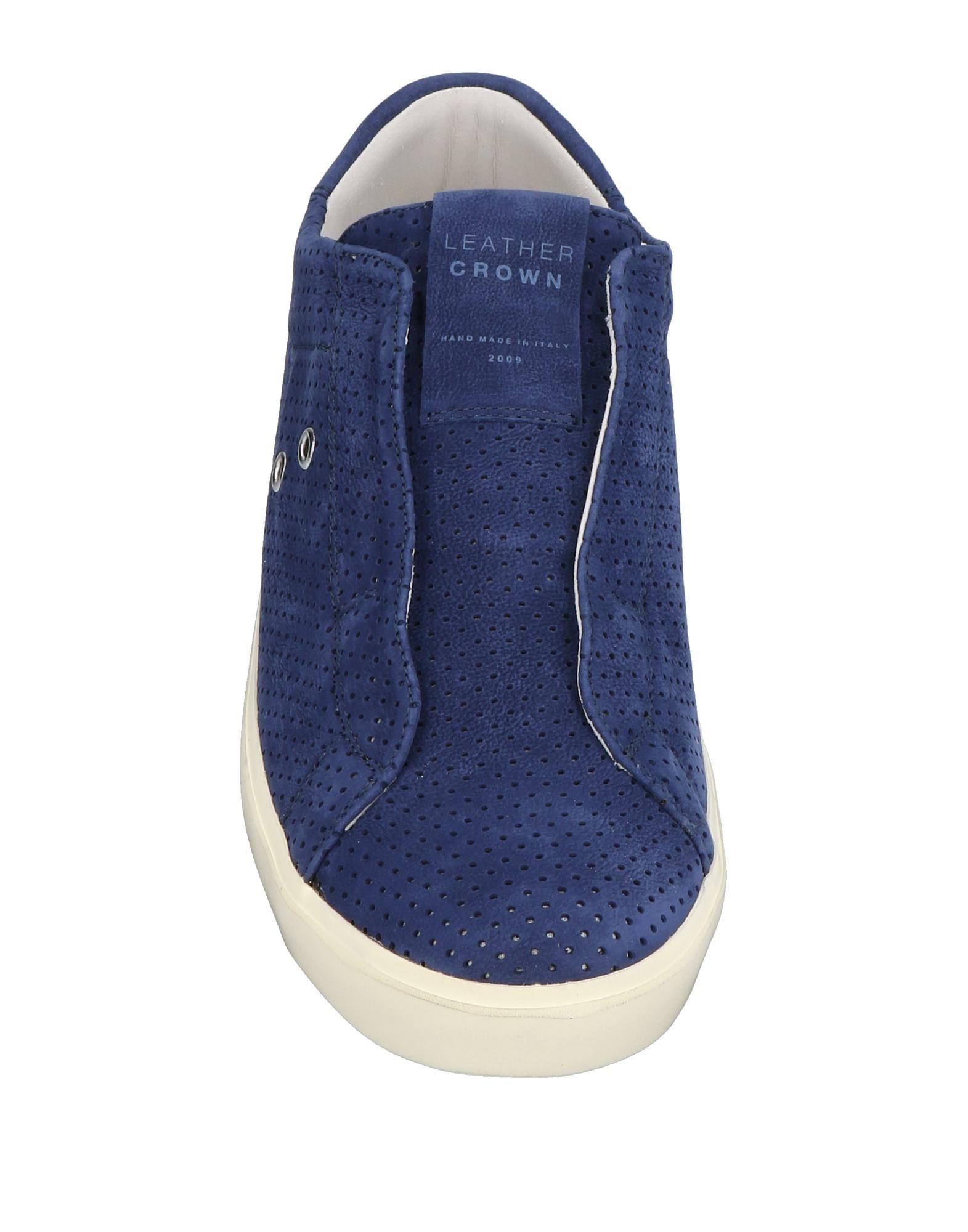 Leather Crown Sneakers Sneakers Crown Herren  11438209NG Neue Schuhe 5b9b62
