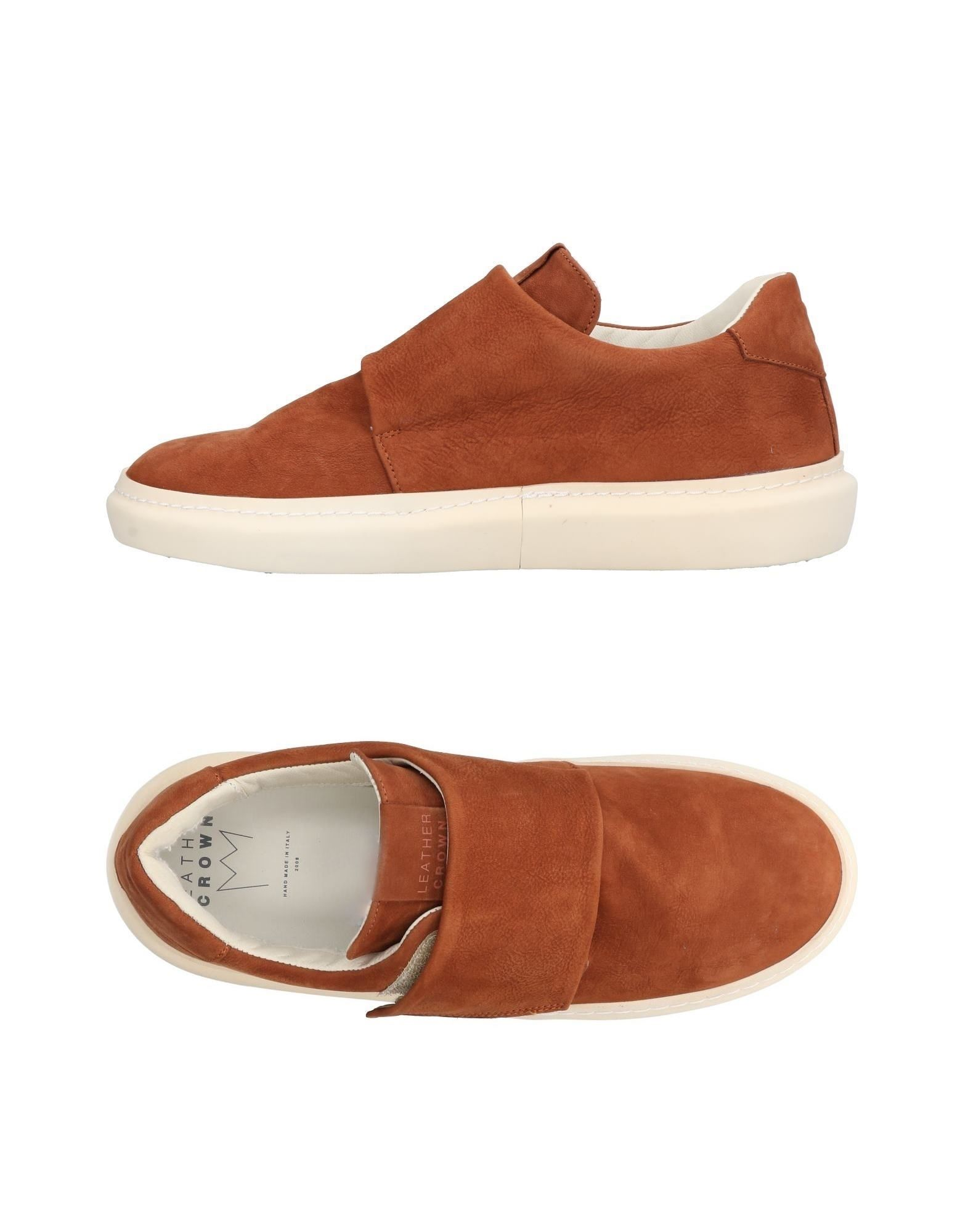 Sneakers Leather Crown Uomo - 11438211PK