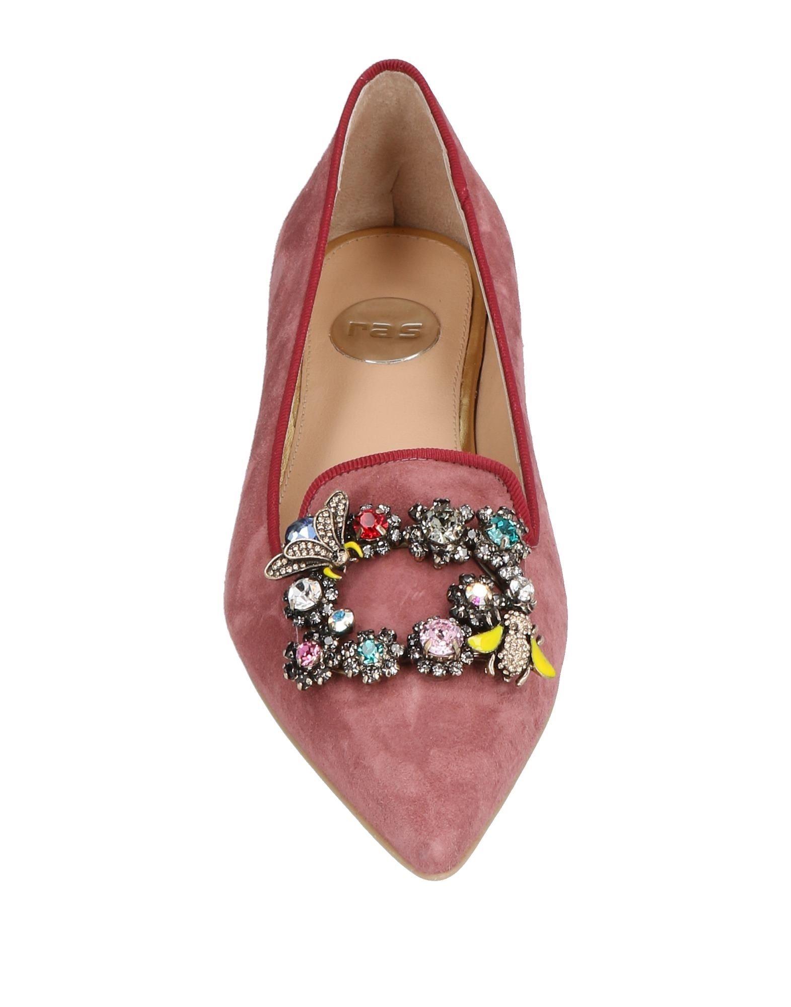 Stilvolle billige Schuhe Ras Mokassins Damen  11438357HF