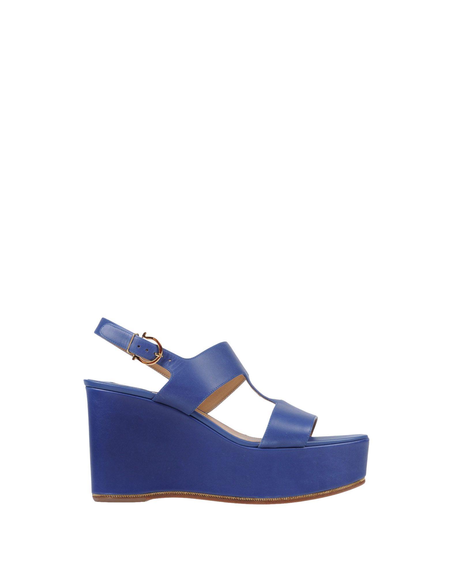 Stilvolle billige Schuhe Salvatore Ferragamo Sandalen Damen  11438628AT
