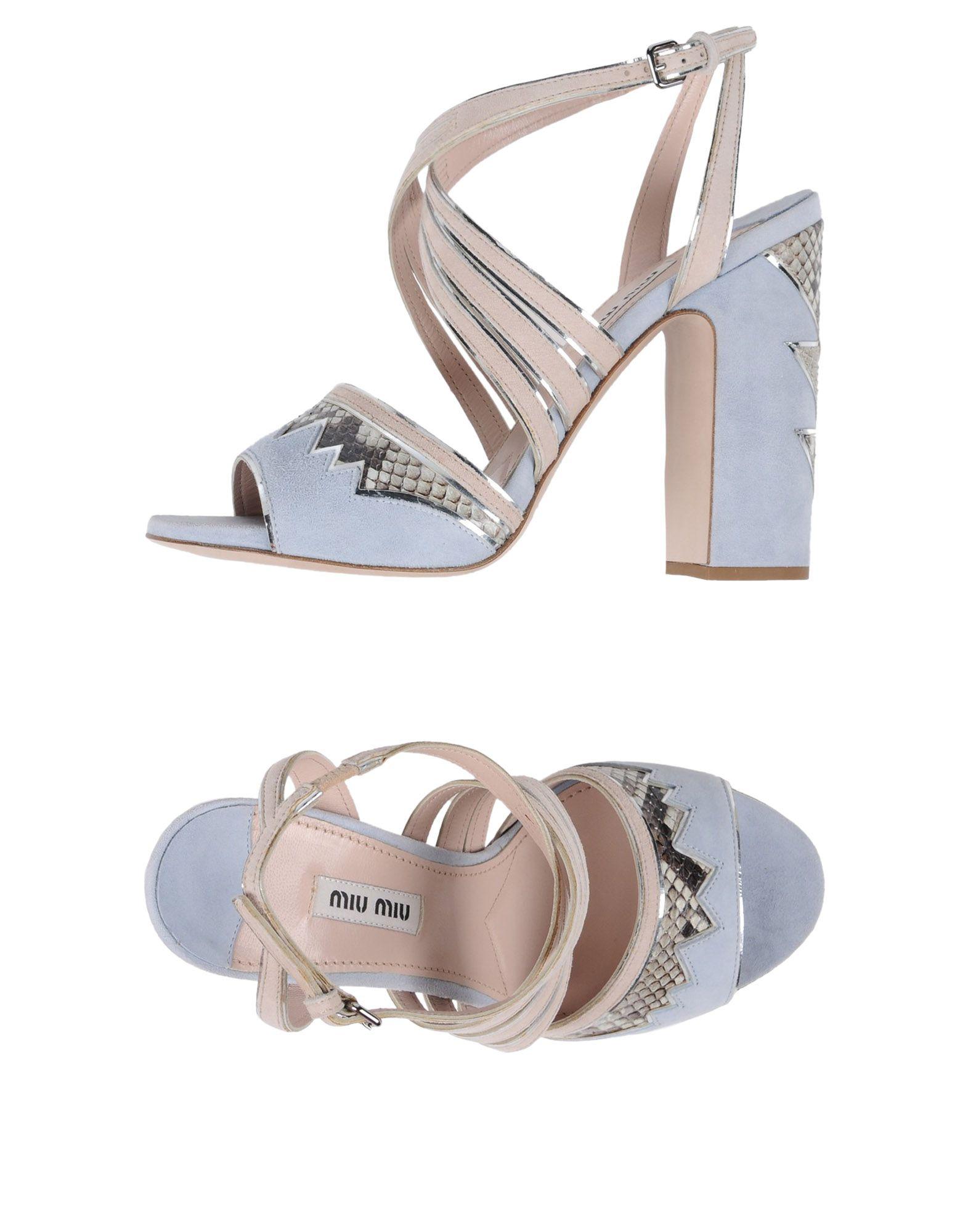 Miu Miu Sandalen Damen  11438967FAGut aussehende strapazierfähige Schuhe