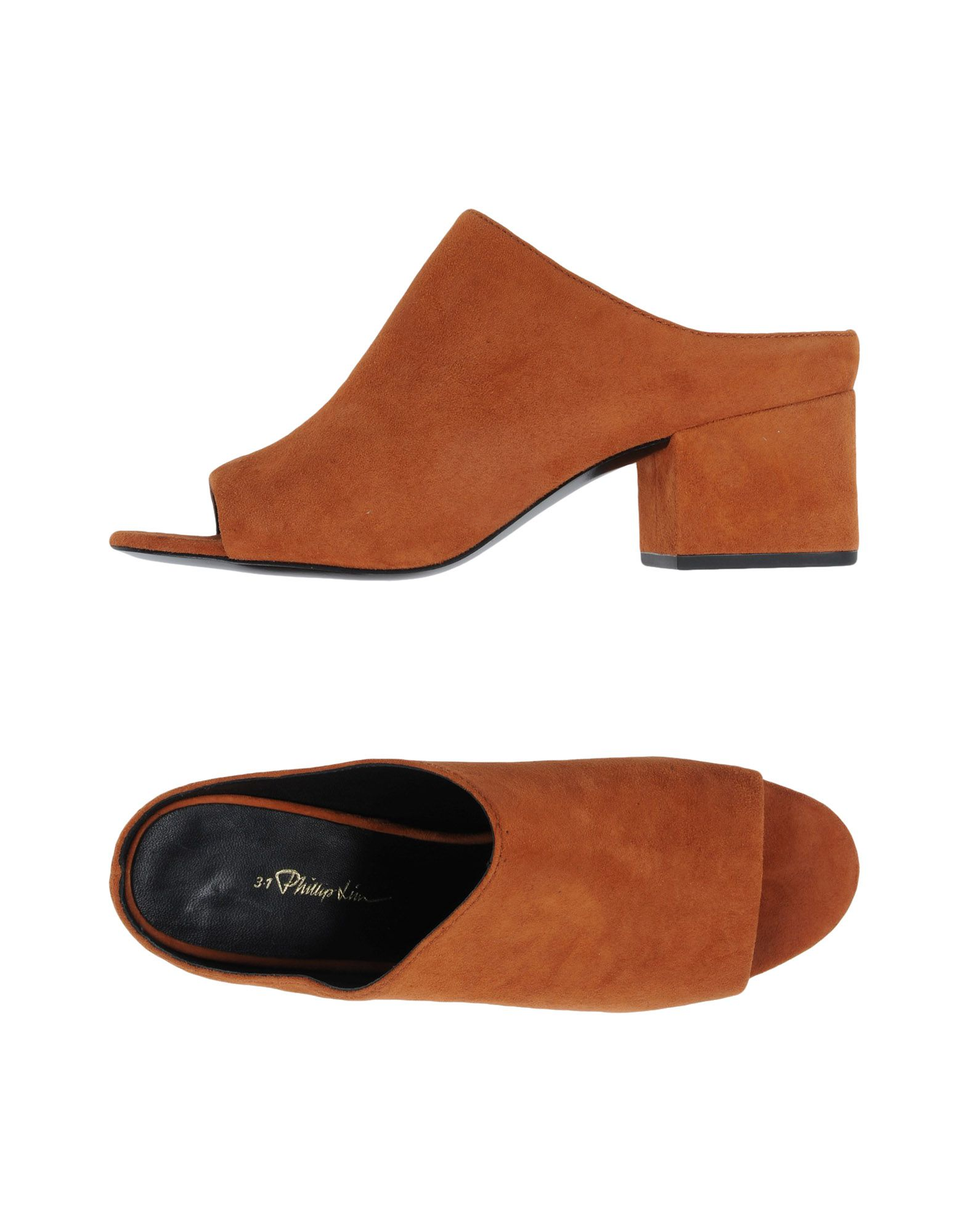 3.1 Phillip Lim Open-Toe Mules - Women 3.1 Phillip Lim  Open-Toe Mules online on  Lim United Kingdom - 11439210IB 832105