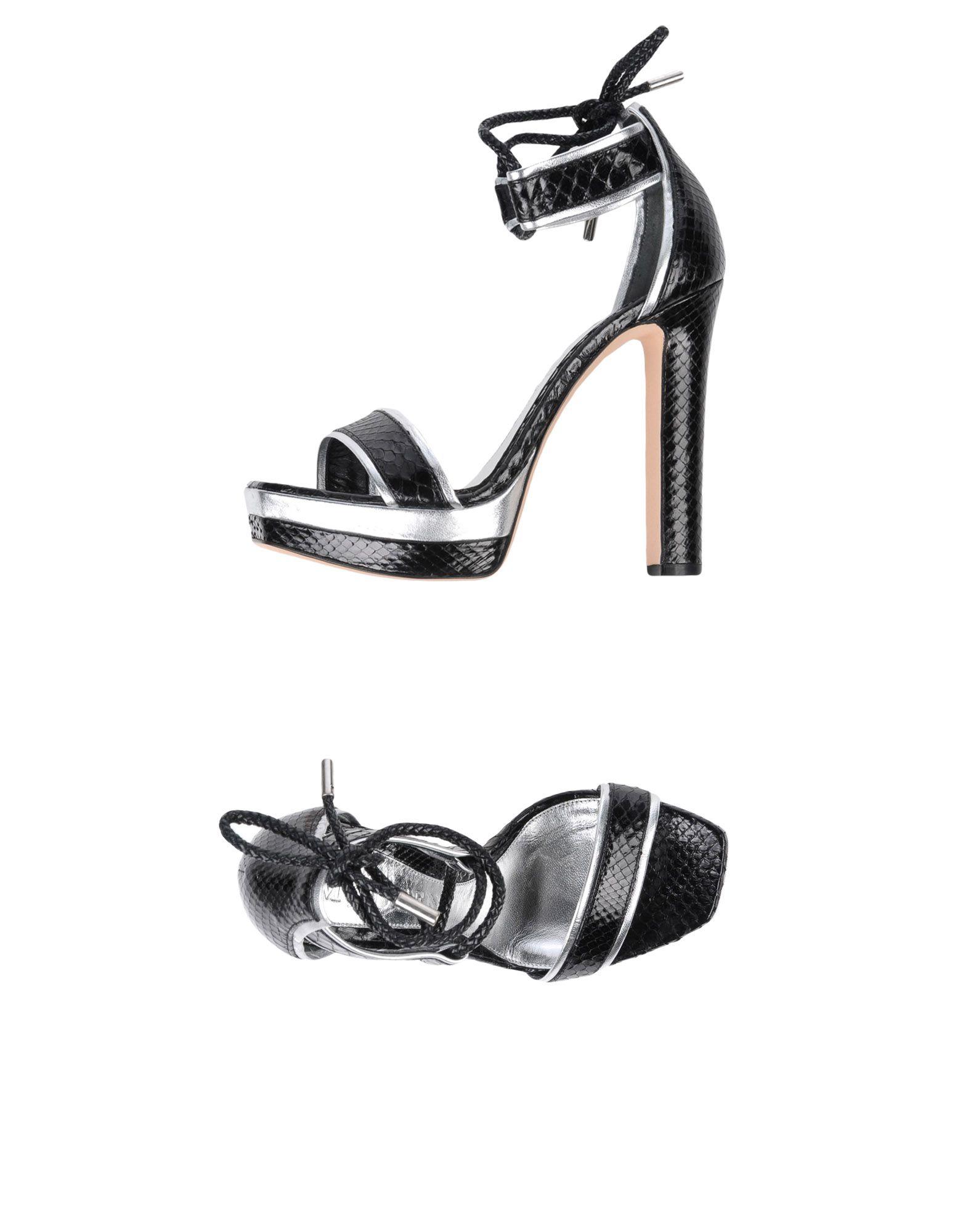 Stilvolle billige Schuhe Alexander Mcqueen Sandalen Damen  11439455OT