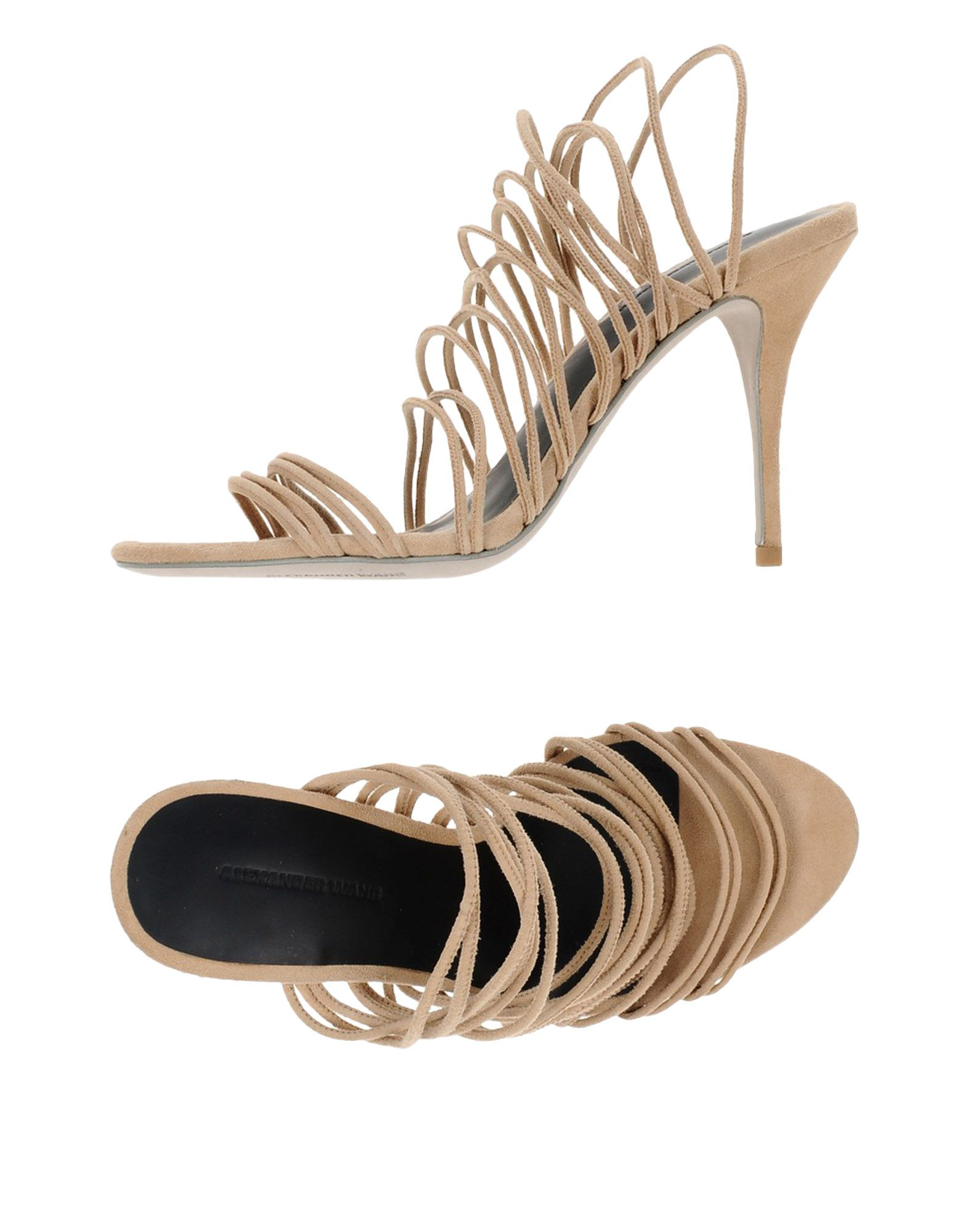 Rabatt Schuhe Alexander Wang Sandalen Damen  11439910IG