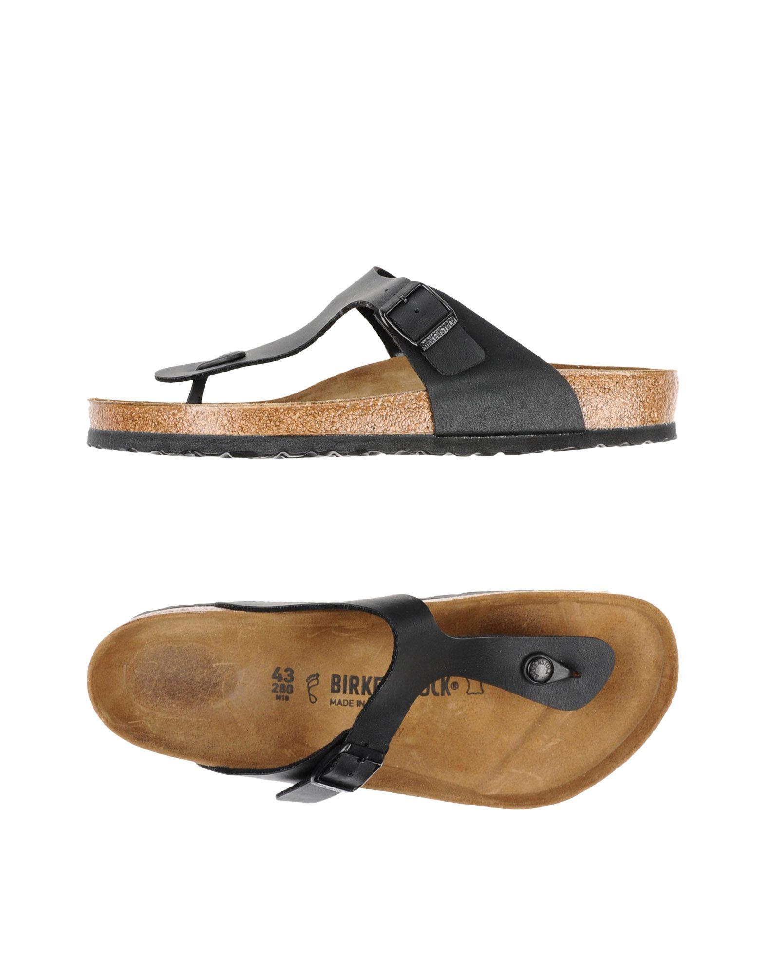 c79af9a6f Birkenstock Flip Flops - Men Birkenstock Flip Flops online on YOOX ...