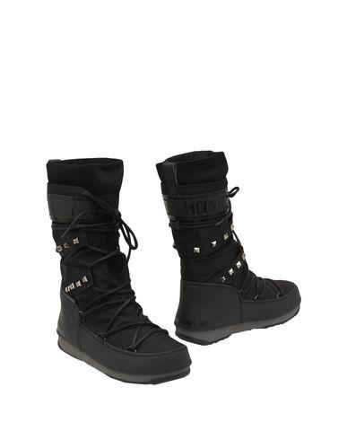 Los últimos zapatos de descuento para hombres y mujeres Bota Moon Boot Monaco Shadow Wp - Mujer - Botas Moon Boot   - 11440526BU Negro