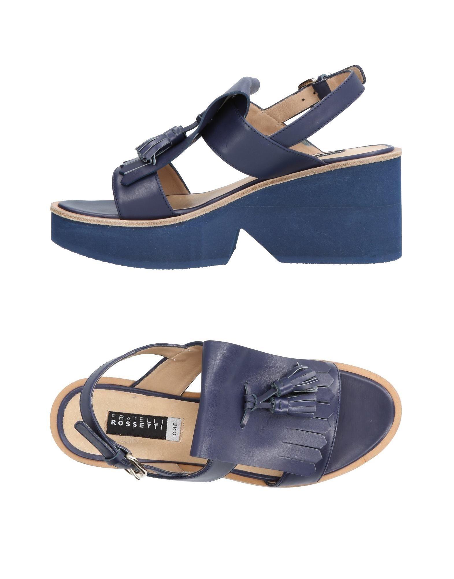 Stilvolle billige Schuhe Fratelli Rossetti Sandalen Damen  11440551MB