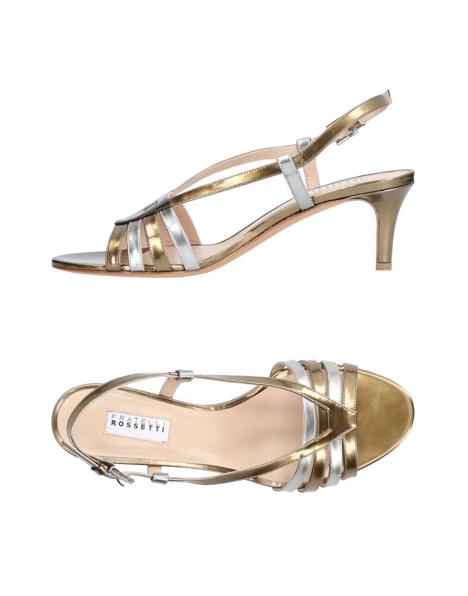 Stilvolle billige Schuhe Fratelli Rossetti Sandalen Damen  11440624KW