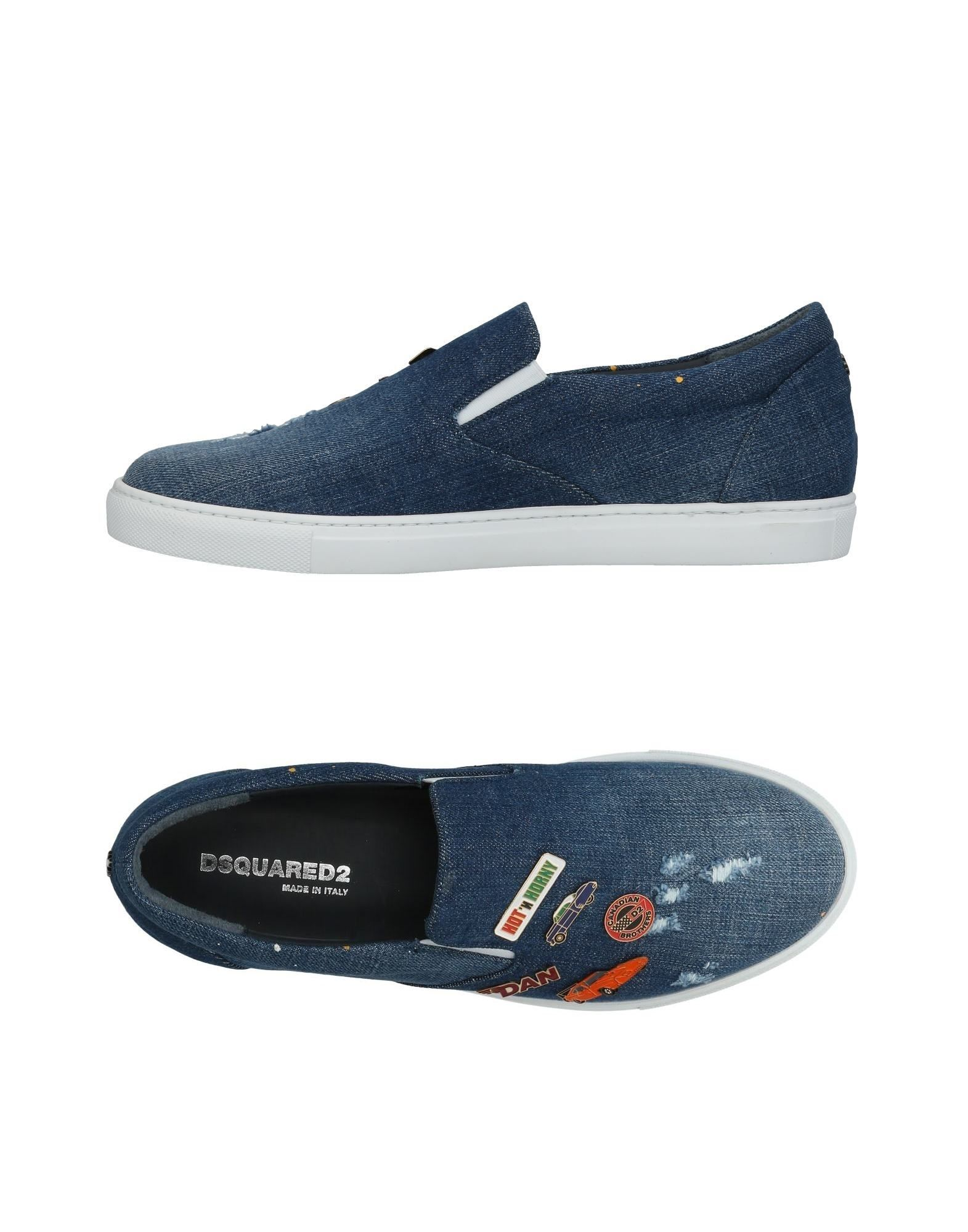 Haltbare Mode billige Schuhe Dsquared2 Sneakers Herren  11441124BW Heiße Schuhe
