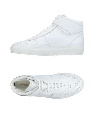 WOMAN by COMMON PROJECTS CALZATURE yoox bianco Pelle