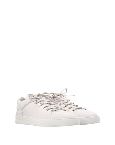 FILLING PIECES Mountain Cut Plain Basic All White  Sneakers
