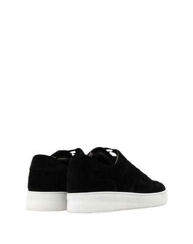 Billig Verkaufen Viele Arten Von Rabatt Verkauf FILLING PIECES Low Mondo Ripple Nardo Suede Black Sneakers i4LwMEW