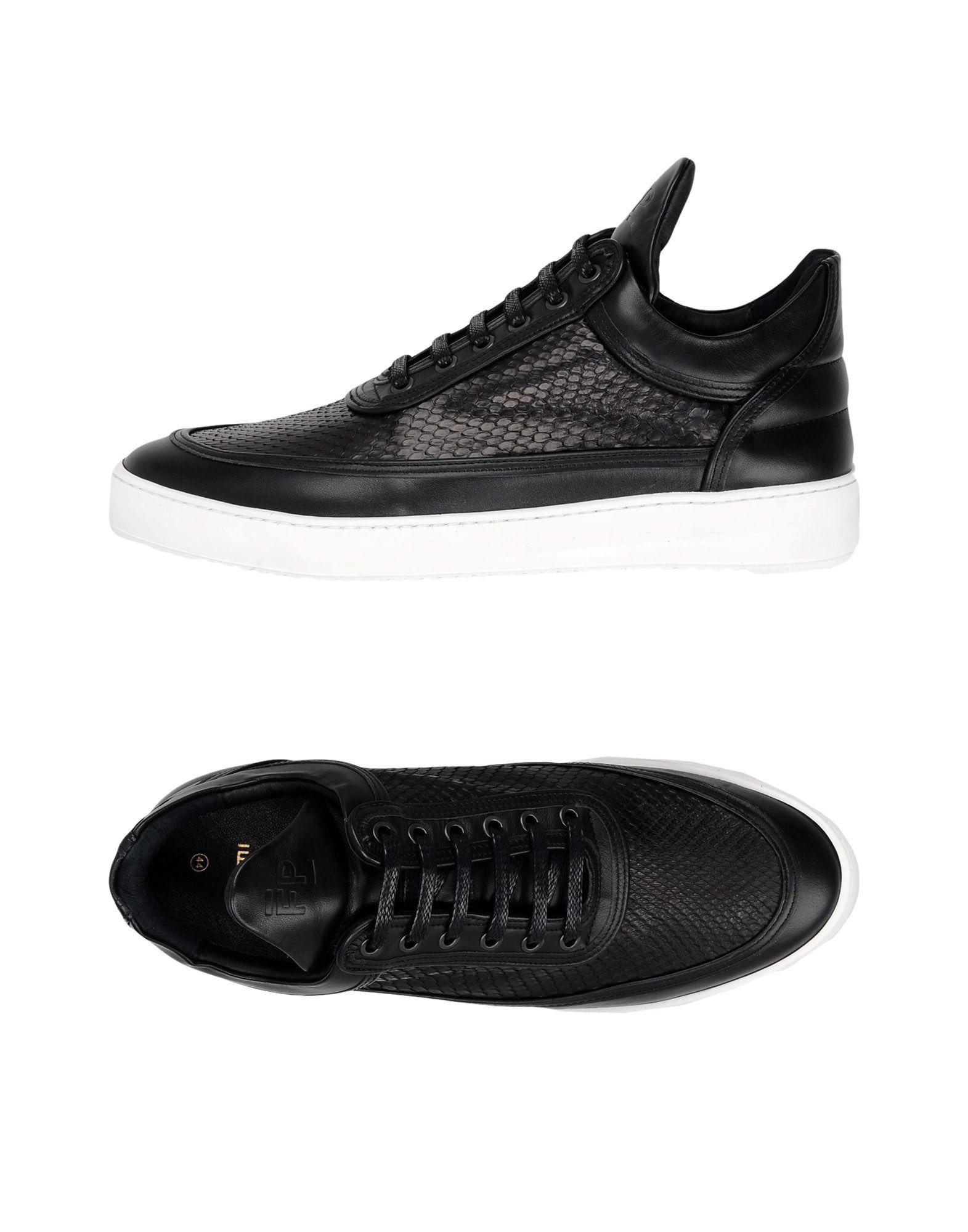 Filling Pieces Low Top Ripple Python Black  11441824JJ Gute Qualität beliebte Schuhe