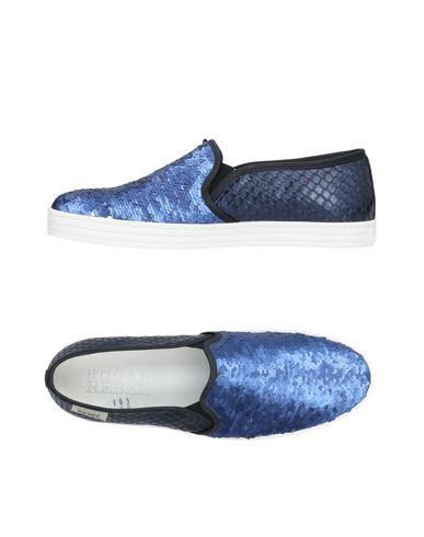Zapatos de hombre y mujer de promoción por tiempo limitado Zapatillas Hogan Rebel Mujer - Zapatillas Hogan Rebel - 11442193MK Azul marino