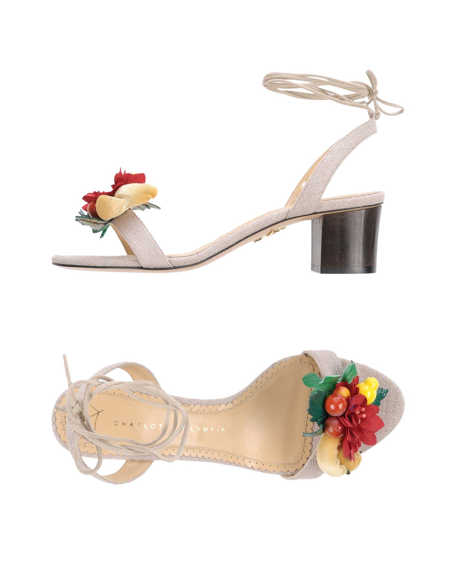Charlotte Olympia Sandalen Damen aussehende 11442224DCGünstige gut aussehende Damen Schuhe 8f56c9