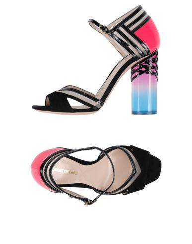 Zapatos casuales salvajes Sandalia Sergio Rossi Mujer - Sandalias Sergio Rossi - 11411960FS Negro