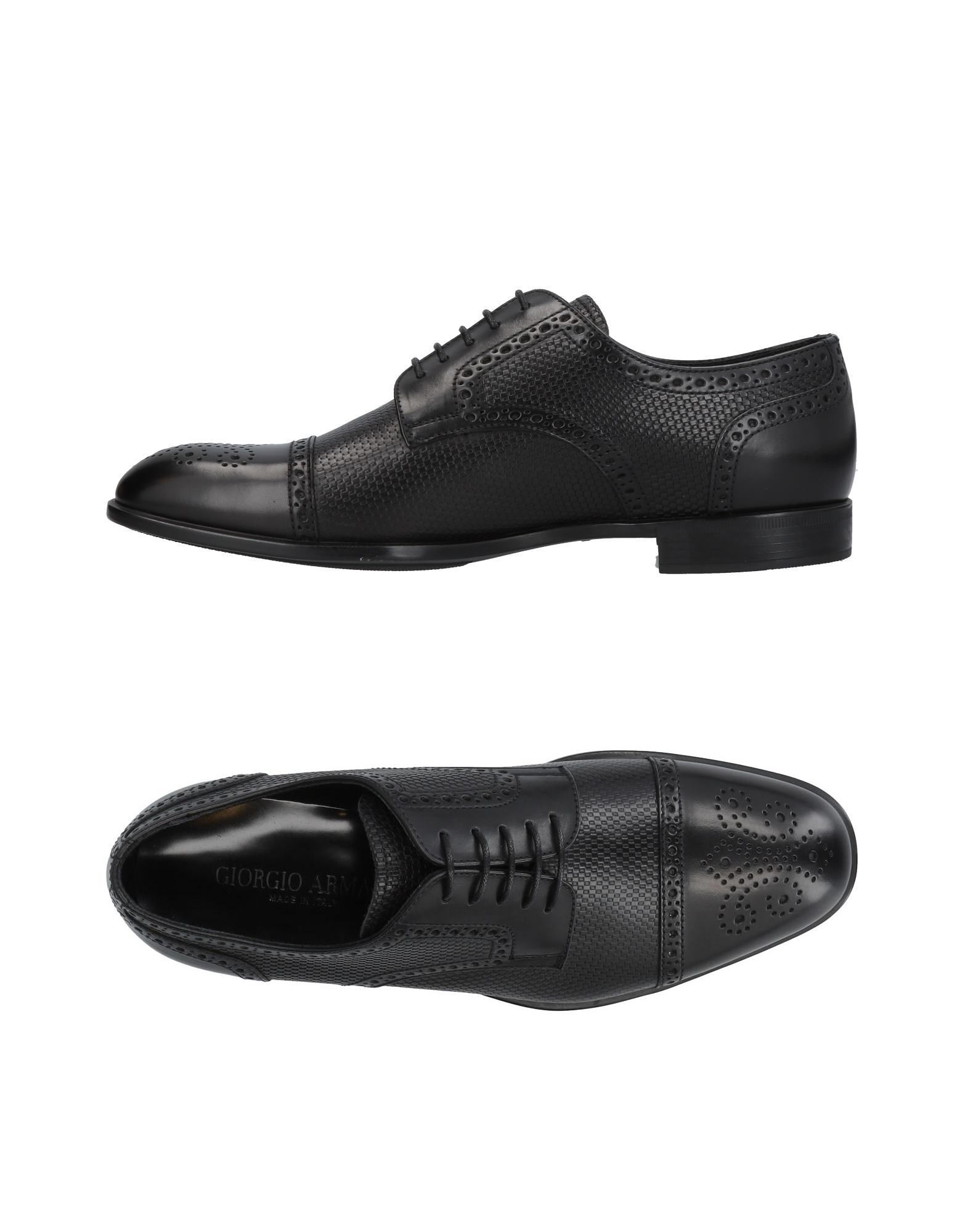 Chaussures - Chaussures À Lacets Armani De Giorgio QLVsPn