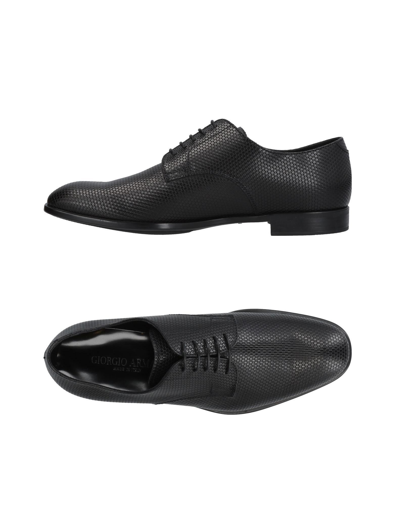Chaussures À Lacets Giorgio Armani Homme - Chaussures À Lacets Giorgio Armani sur