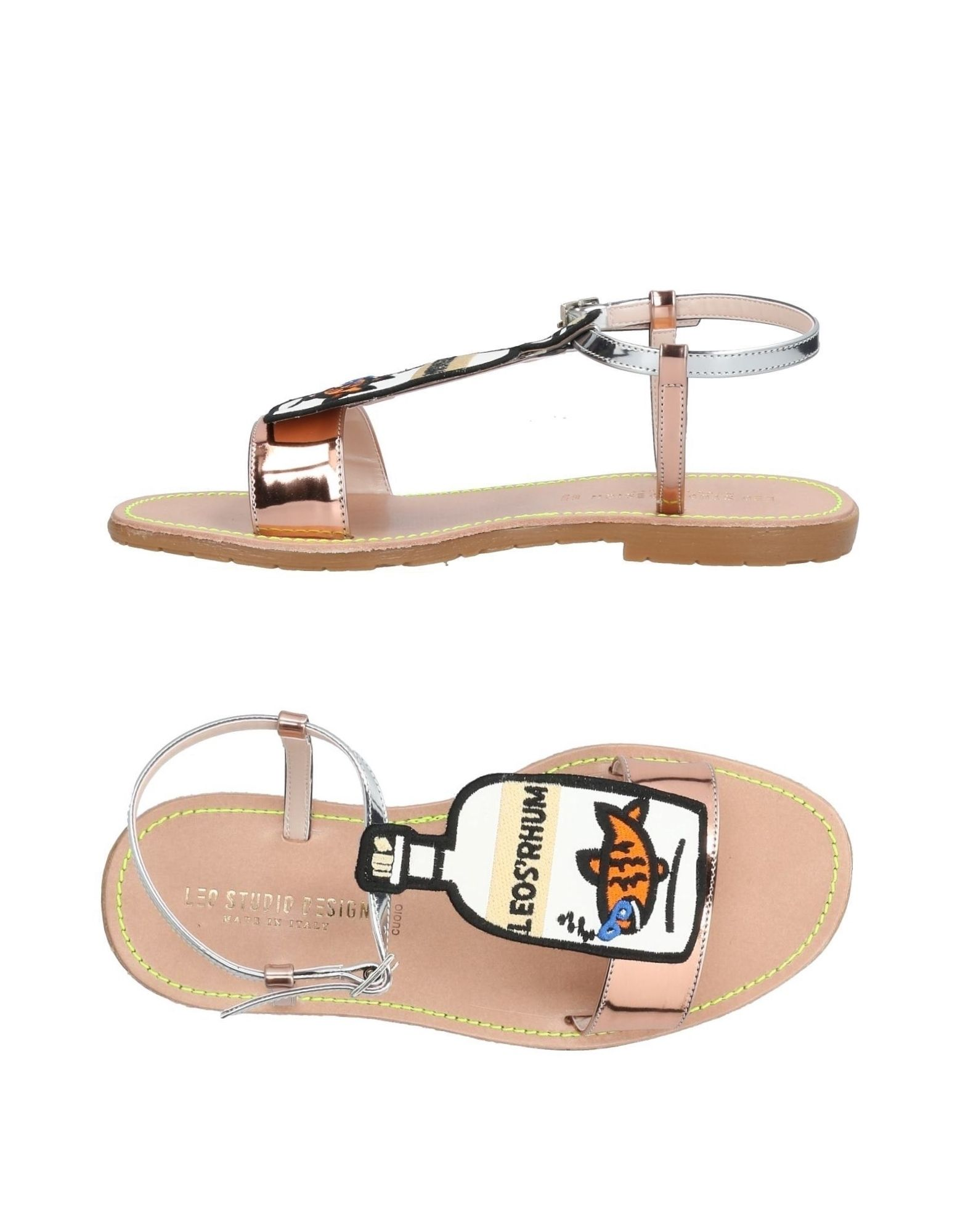 Leo Studio Design Sandalen Damen  11442747PR Gute Qualität beliebte Schuhe